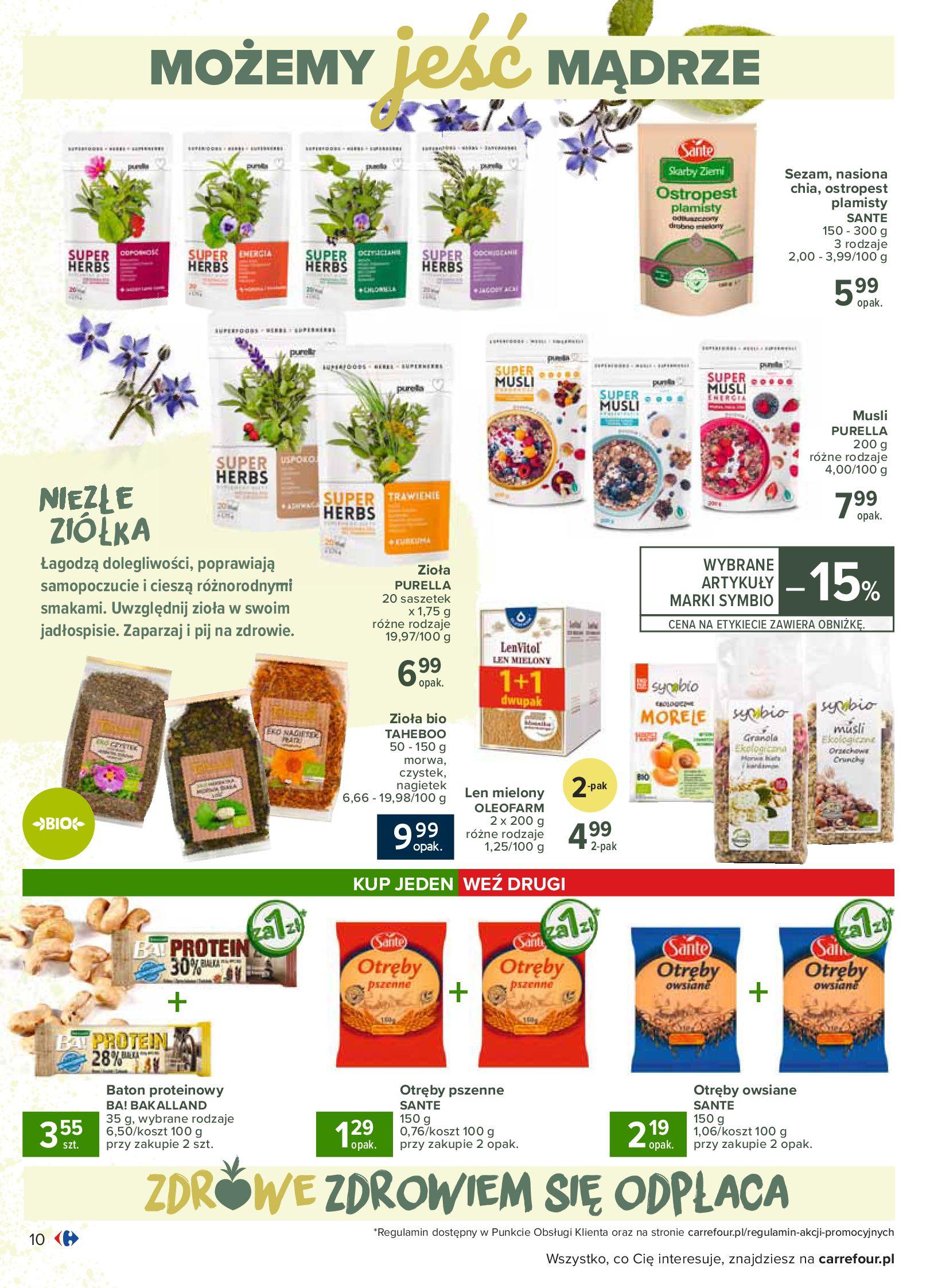 Gazetka Carrefour - Katalog - Możemy jeść mądrze-29.06.2020-18.07.2020-page-10
