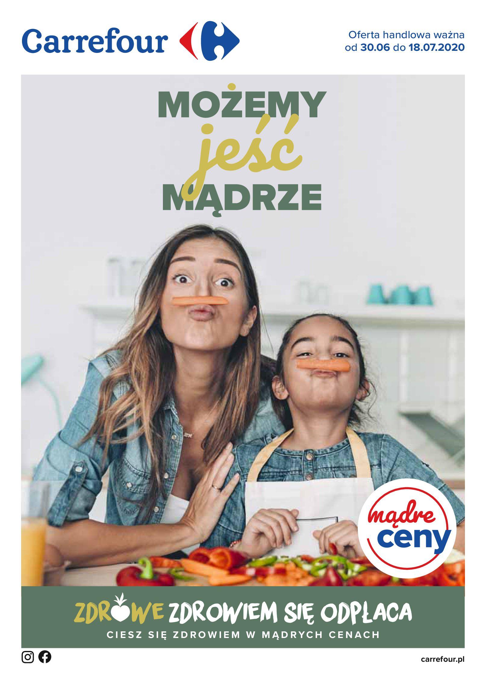 Gazetka Carrefour - Katalog - Możemy jeść mądrze-29.06.2020-18.07.2020-page-1