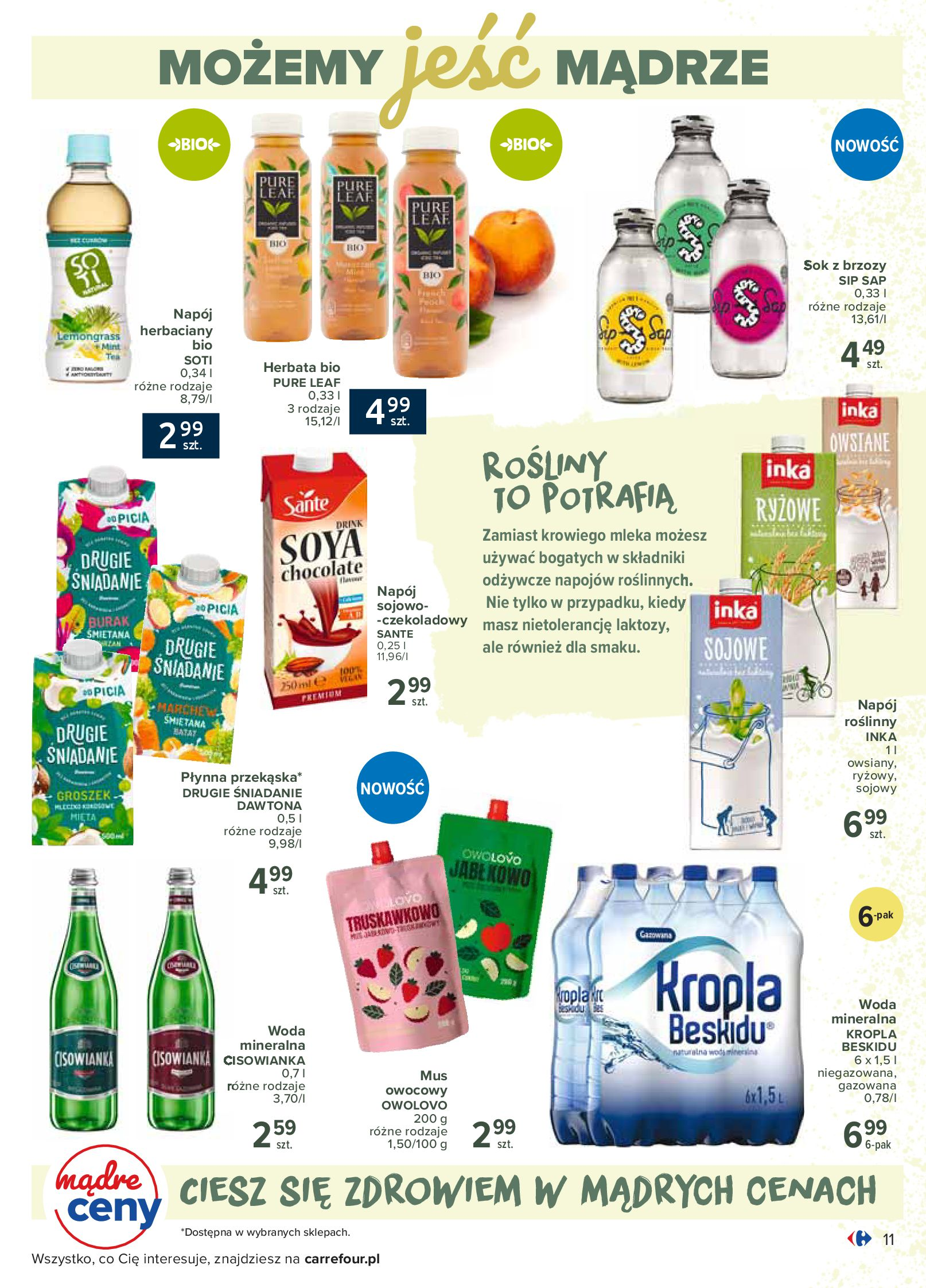 Gazetka Carrefour - Katalog - Możemy jeść mądrze-29.06.2020-18.07.2020-page-11