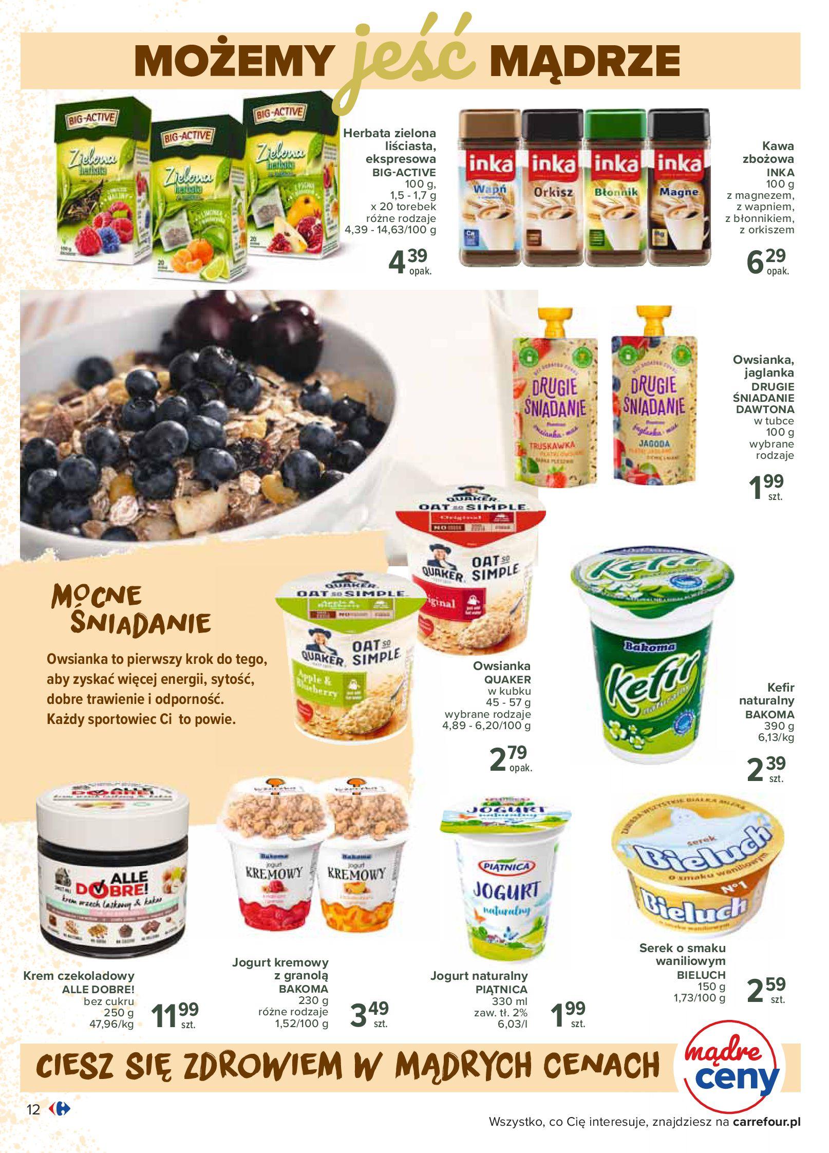 Gazetka Carrefour - Katalog - Możemy jeść mądrze-29.06.2020-18.07.2020-page-12