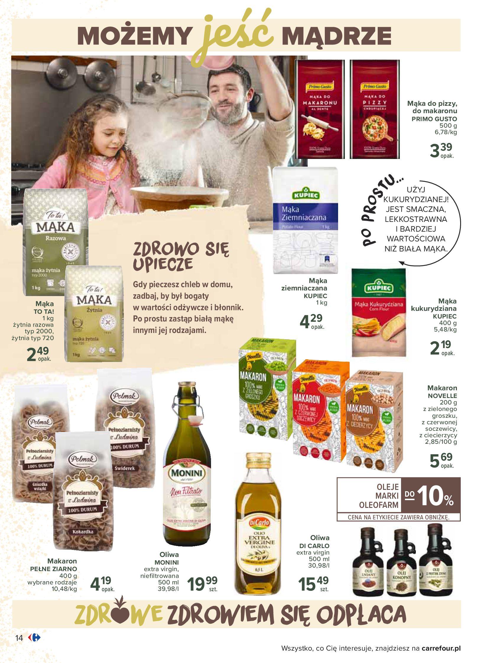 Gazetka Carrefour - Katalog - Możemy jeść mądrze-29.06.2020-18.07.2020-page-14