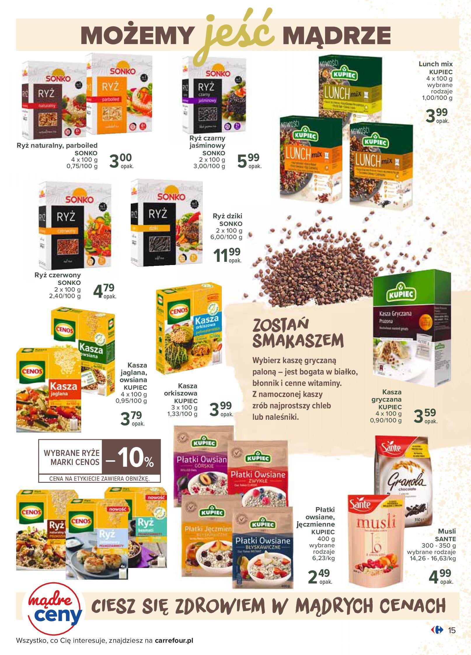 Gazetka Carrefour - Katalog - Możemy jeść mądrze-29.06.2020-18.07.2020-page-15