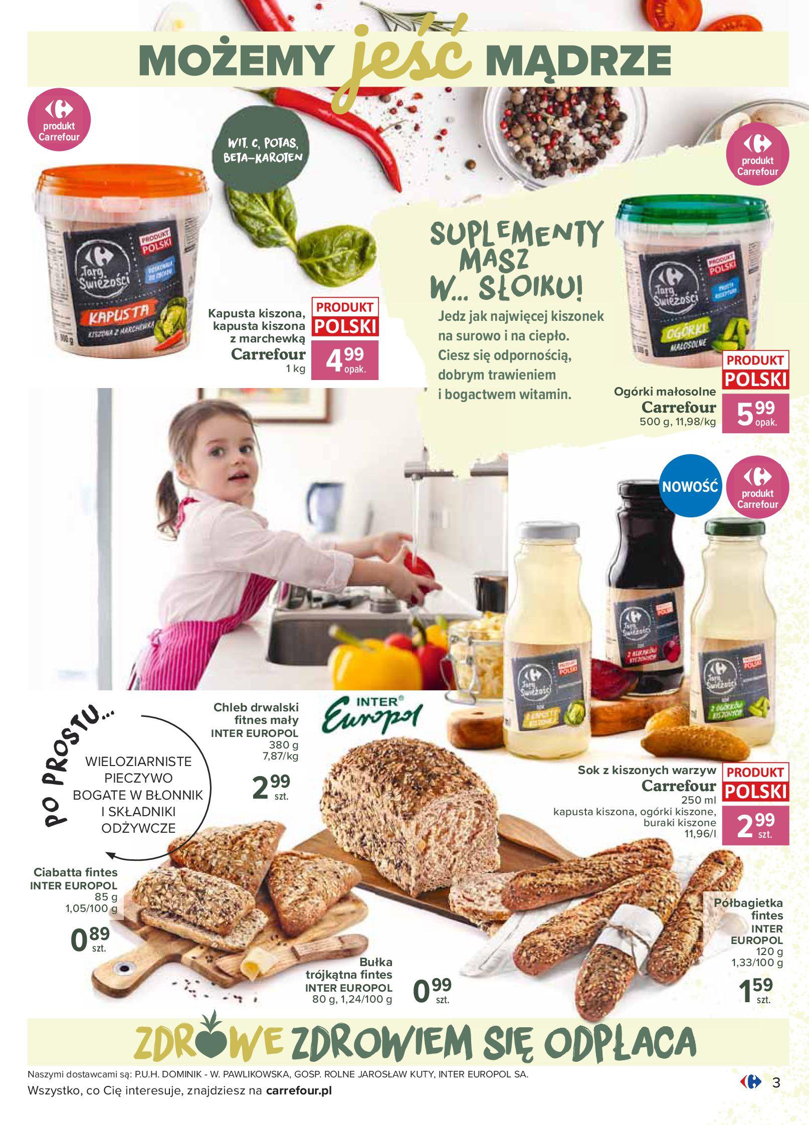 Gazetka Carrefour - Katalog - Możemy jeść mądrze-29.06.2020-18.07.2020-page-3