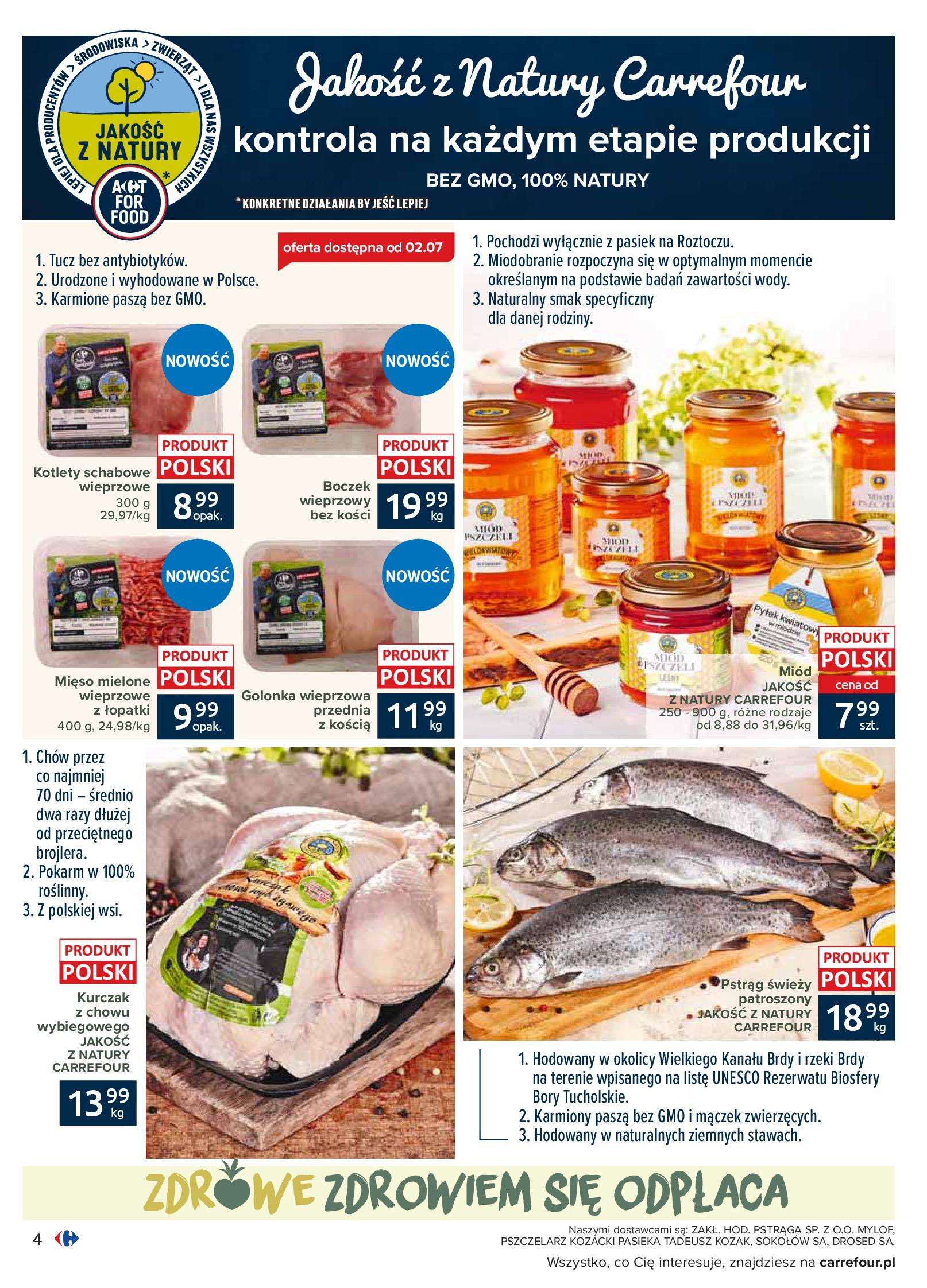 Gazetka Carrefour - Katalog - Możemy jeść mądrze-29.06.2020-18.07.2020-page-4