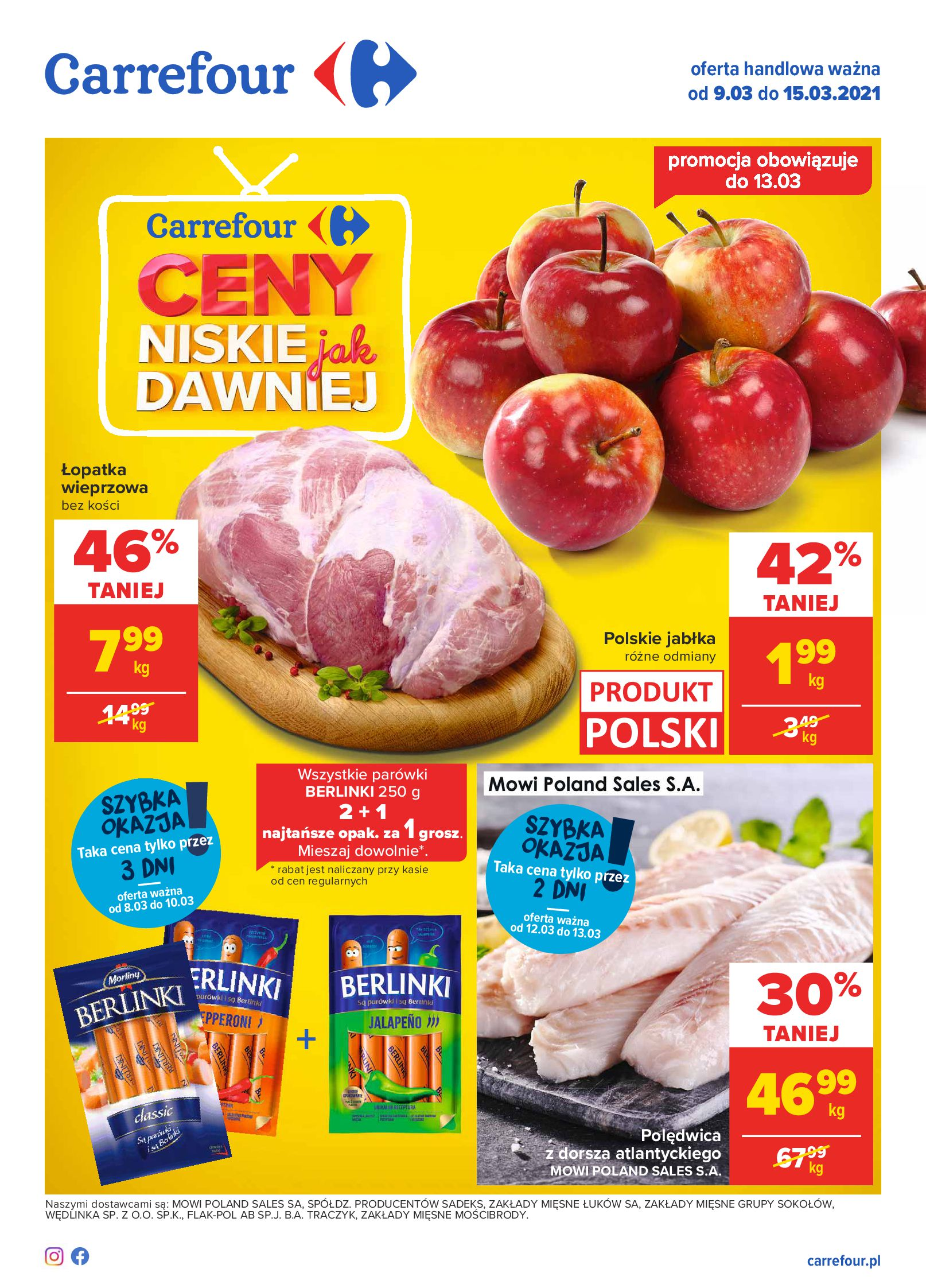 Carrefour:  Gazetka Carrefour 08.03.2021