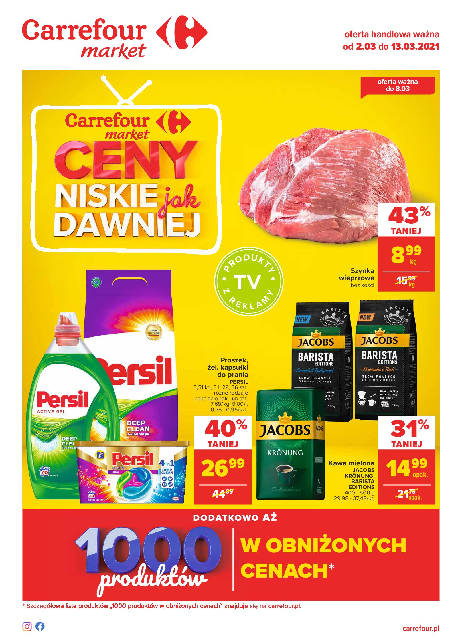 Carrefour Market:  Gazetka Market 01.03.2021