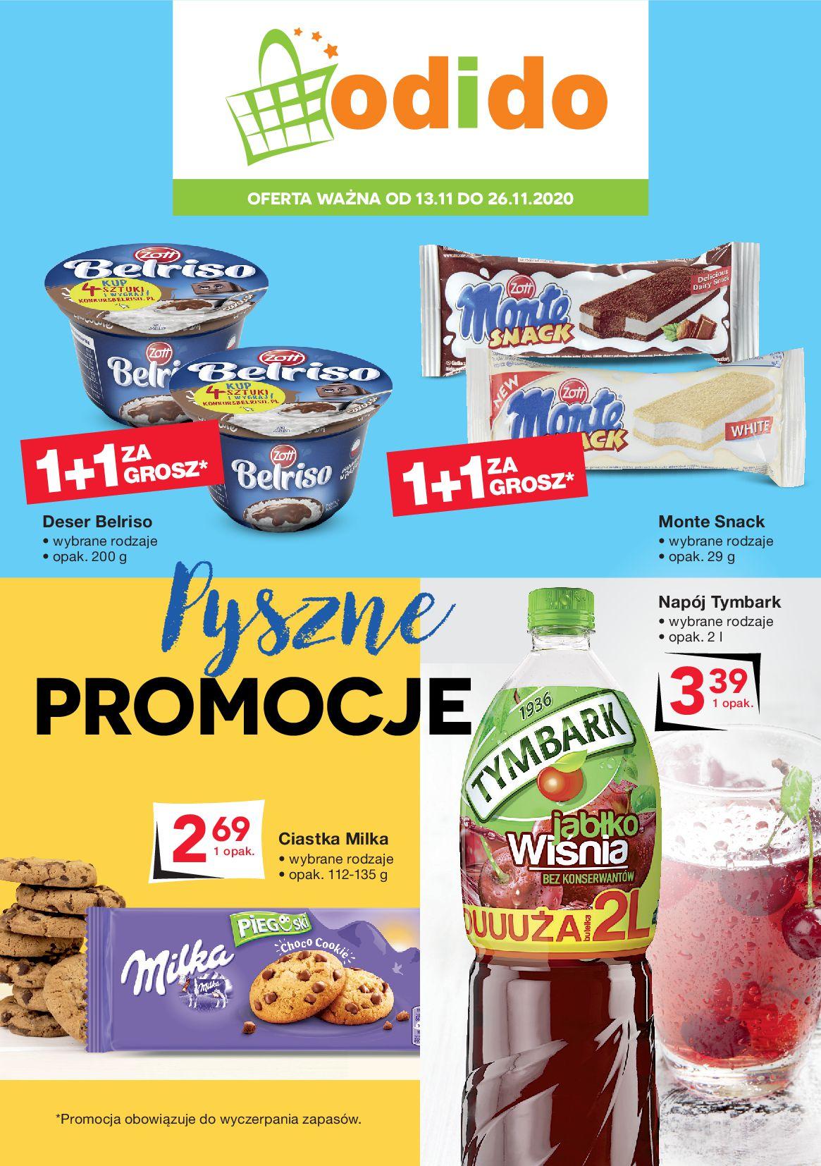 Gazetka Odido - Gazetka promocyjna-12.11.2020-26.11.2020-page-1