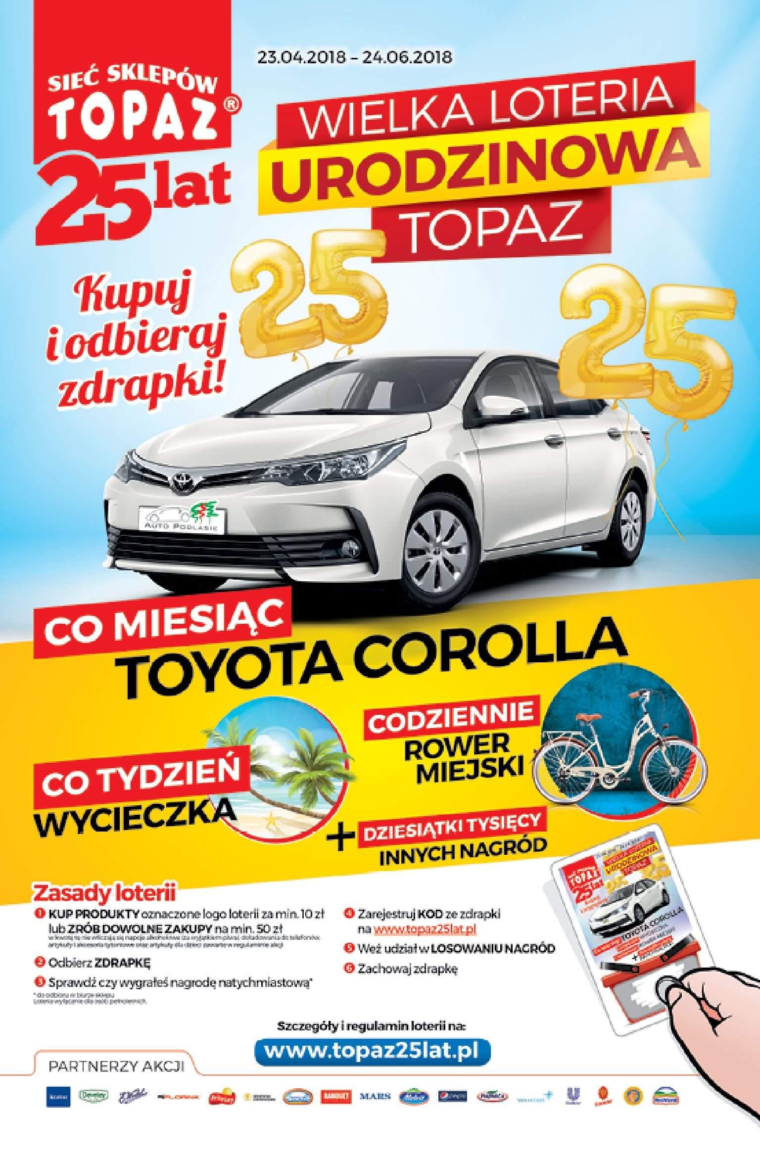 Gazetka TOPAZ - Oferta na art. spożywcze-16.05.2018-23.05.2018-page-