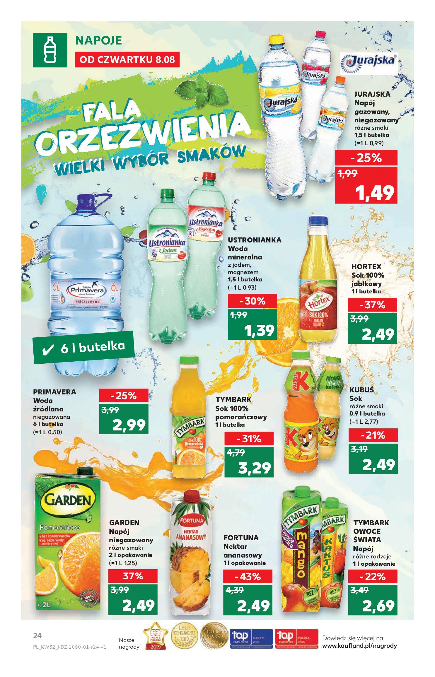 Gazetka Kaufland - Na dobry tydzień-07.08.2019-14.08.2019-page-