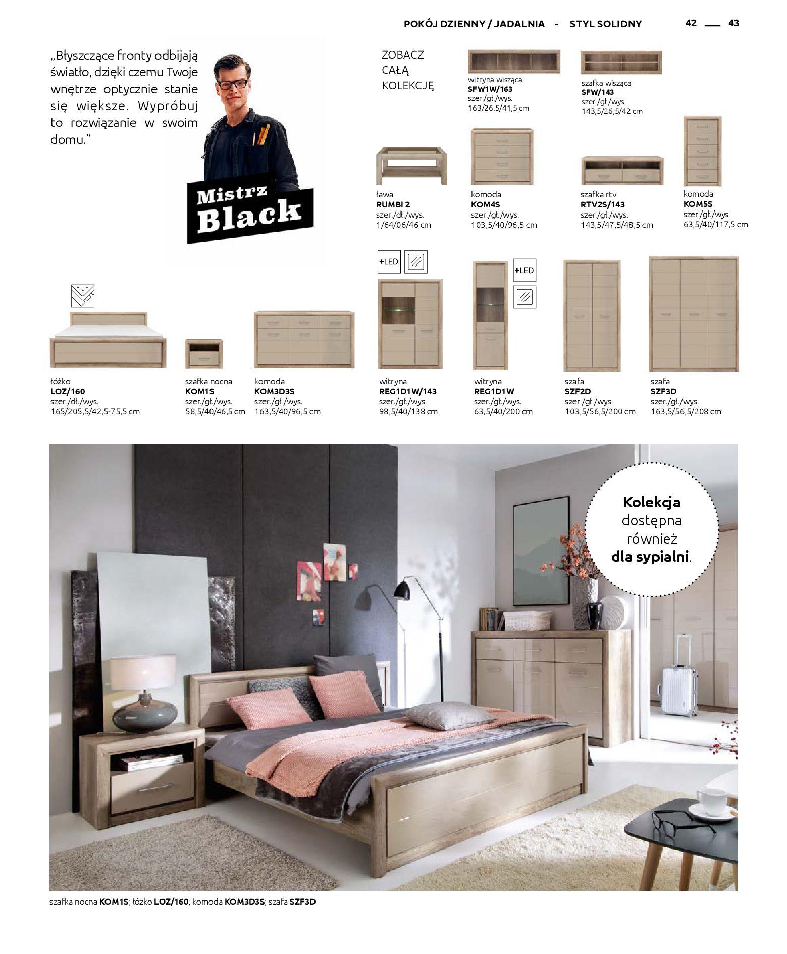 Gazetka Black Red White: Katalog - Rodzinne wnętrza 2019-04-01 page-43