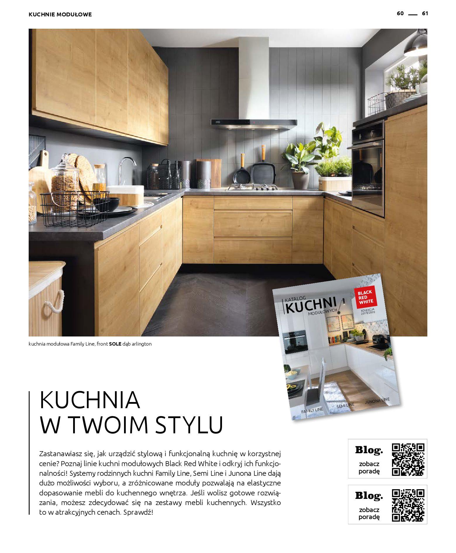 Gazetka Black Red White - Katalog - Rodzinne wnętrza-31.03.2019-31.12.2020-page-61