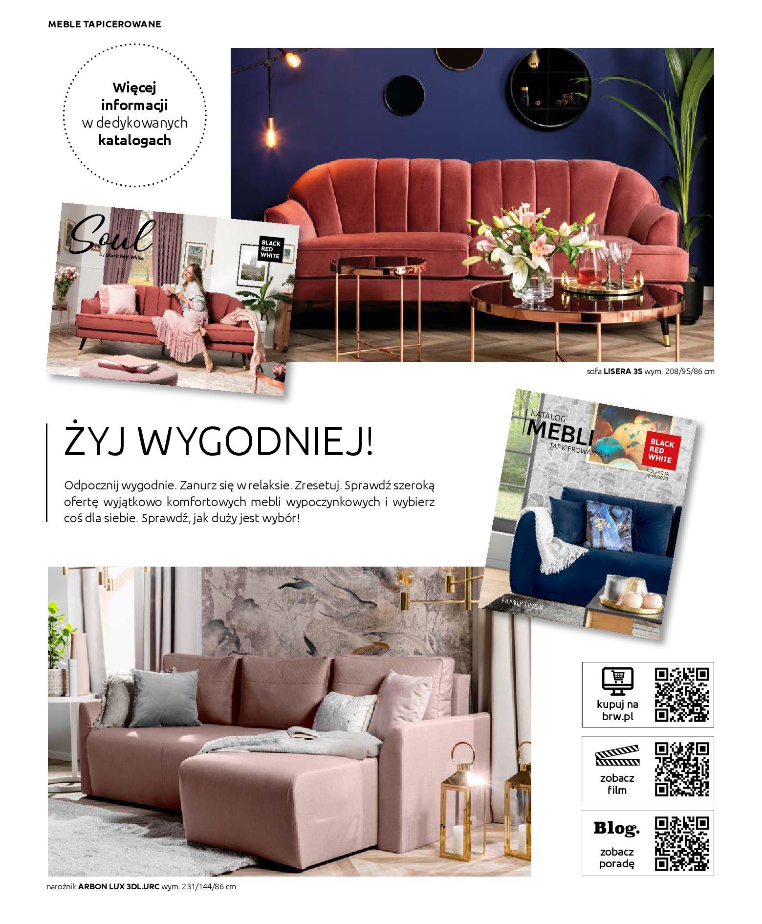 Gazetka Black Red White - Katalog - Rodzinne wnętrza-31.03.2019-31.12.2020-page-62