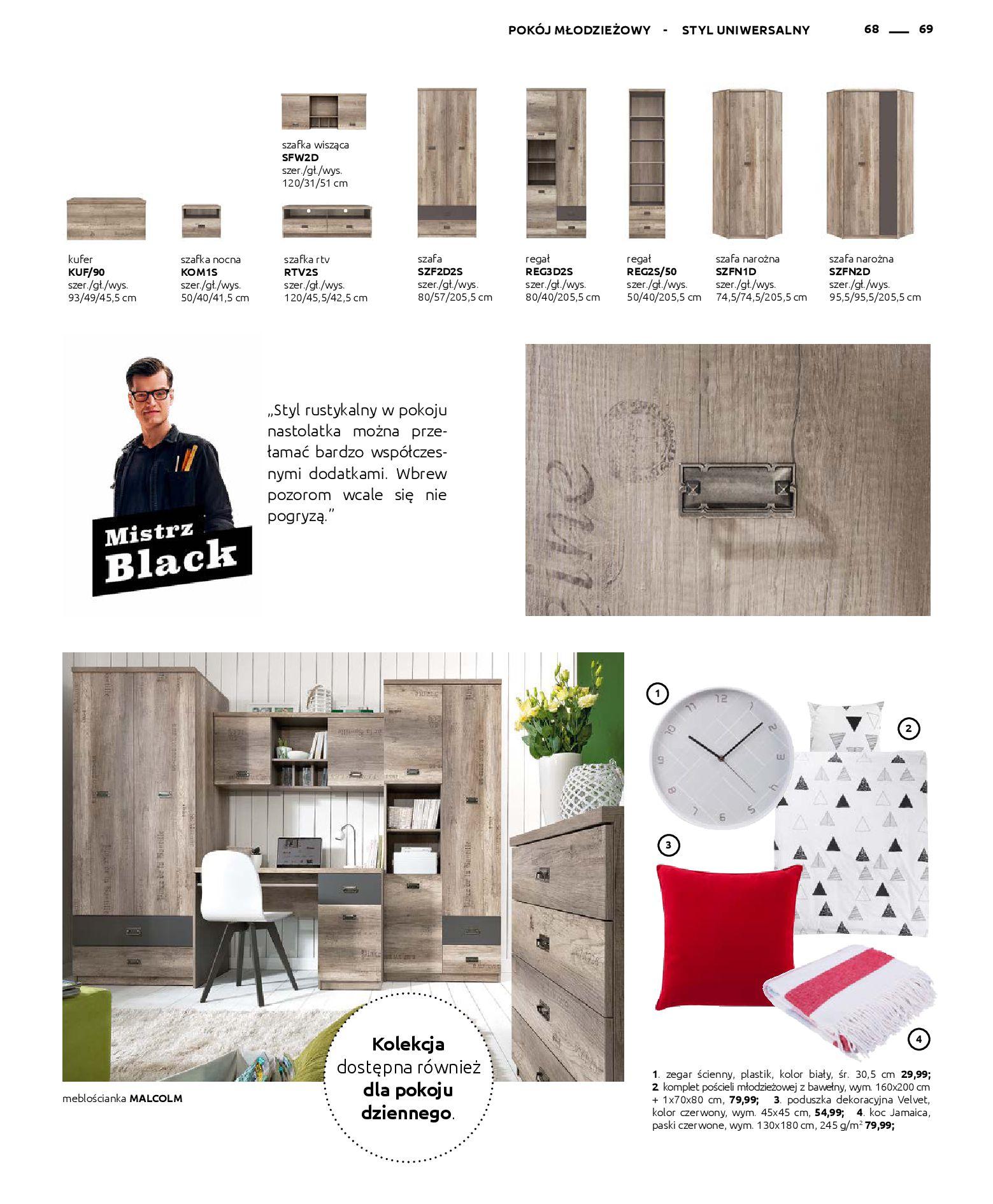 Gazetka Black Red White: Katalog - Rodzinne wnętrza 2019-04-01 page-69