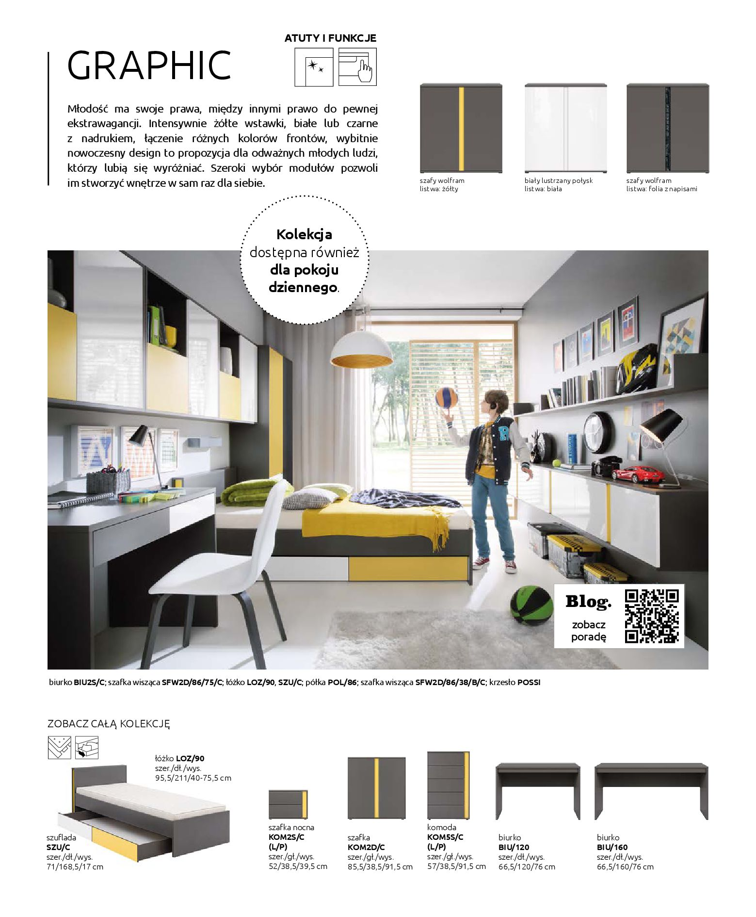 Gazetka Black Red White: Katalog - Rodzinne wnętrza 2019-04-01 page-74