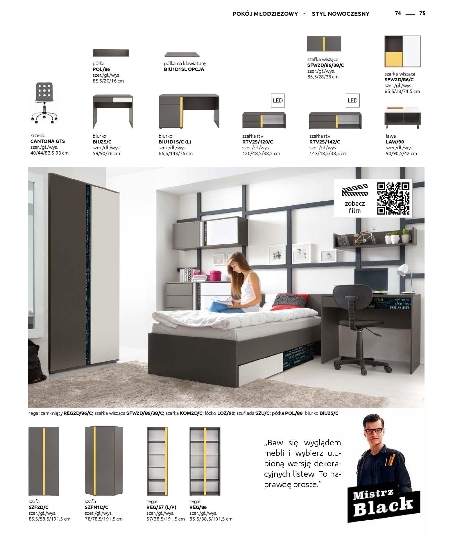 Gazetka Black Red White - Katalog - Rodzinne wnętrza-31.03.2019-31.12.2020-page-75