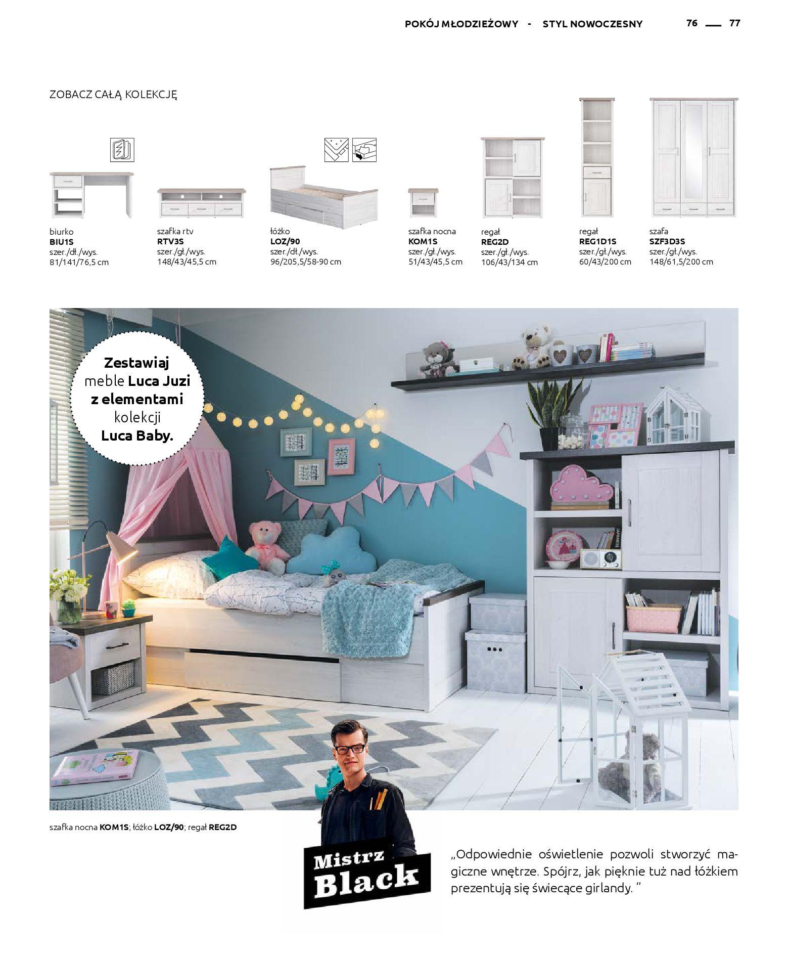 Gazetka Black Red White: Katalog - Rodzinne wnętrza 2019-04-01 page-77