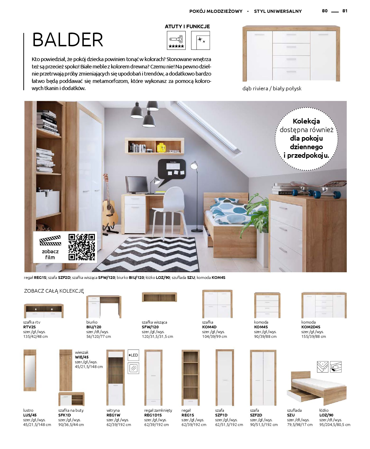 Gazetka Black Red White - Katalog - Rodzinne wnętrza-31.03.2019-31.12.2020-page-81