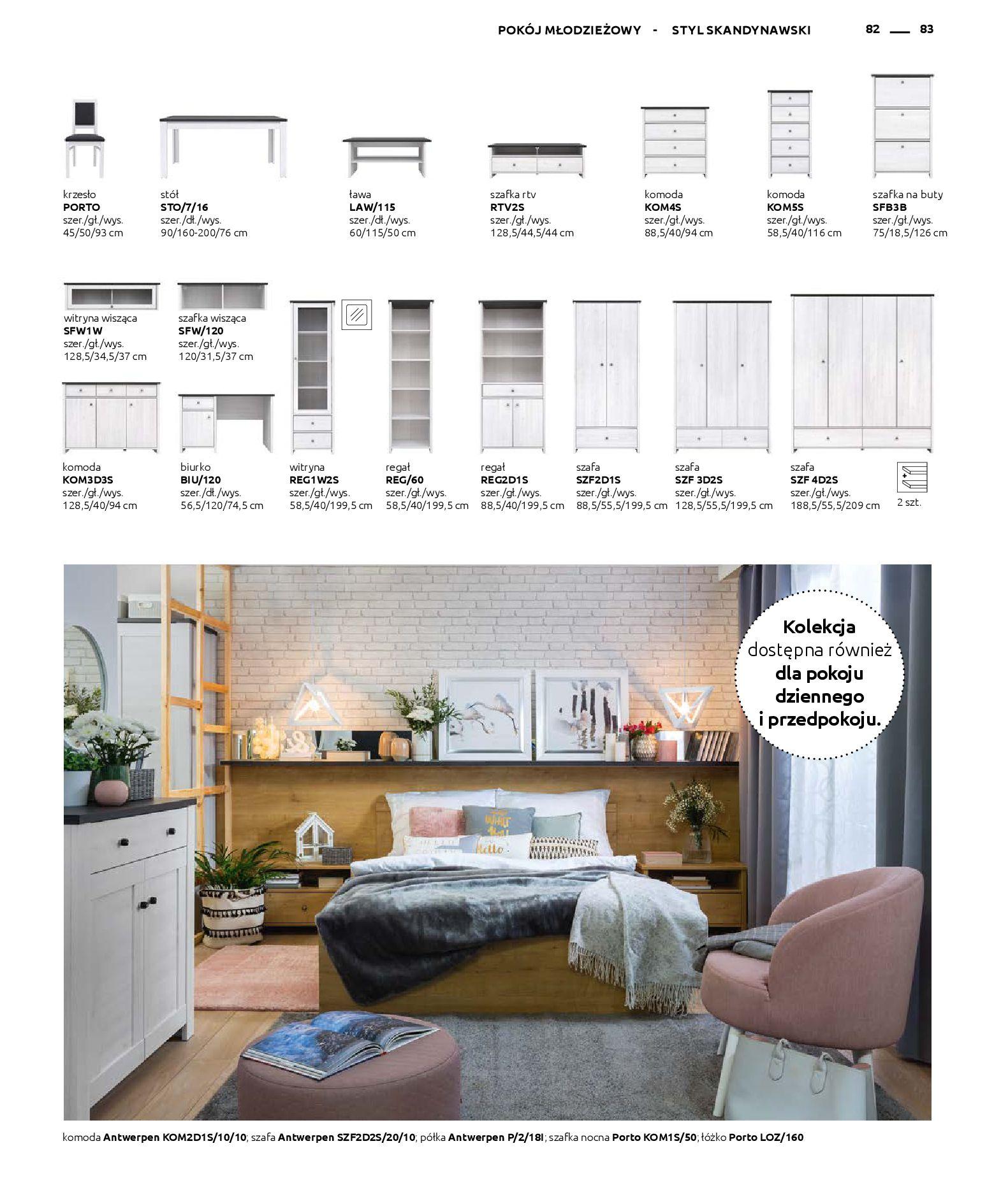 Gazetka Black Red White: Katalog - Rodzinne wnętrza 2019-04-01 page-83