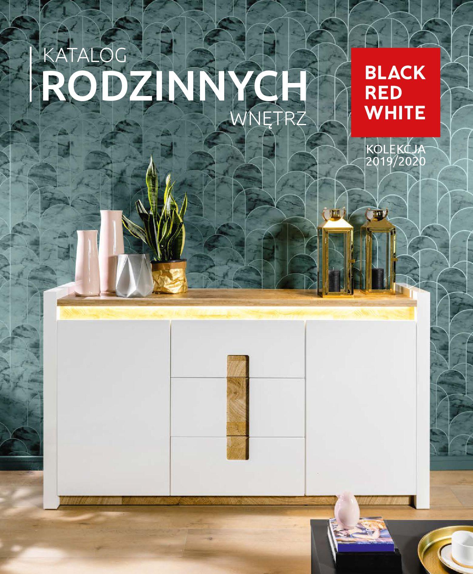 Gazetka Black Red White: Katalog - Rodzinne wnętrza 2019-04-01 page-1
