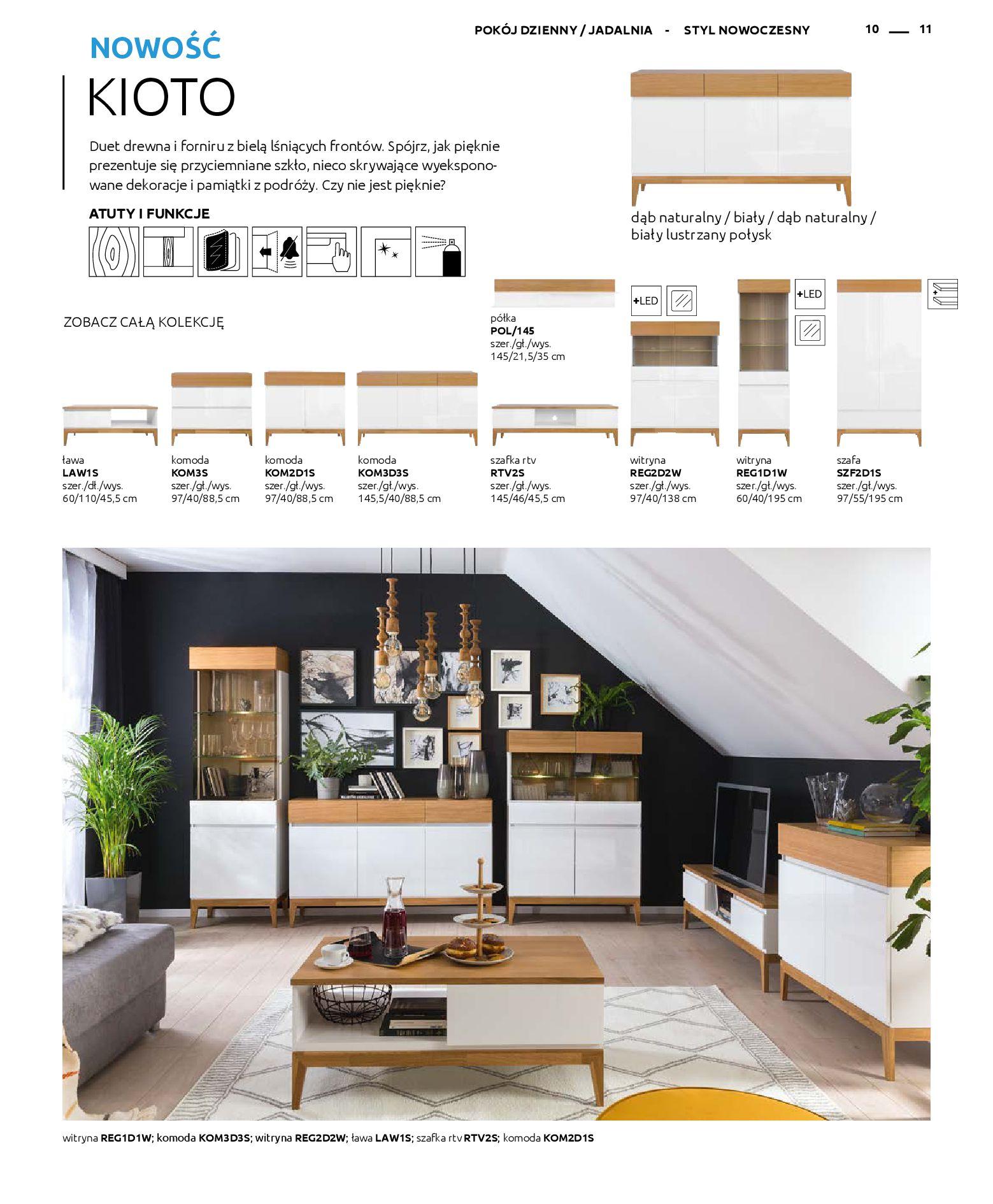 Gazetka Black Red White: Katalog - Rodzinne wnętrza 2019-04-01 page-11