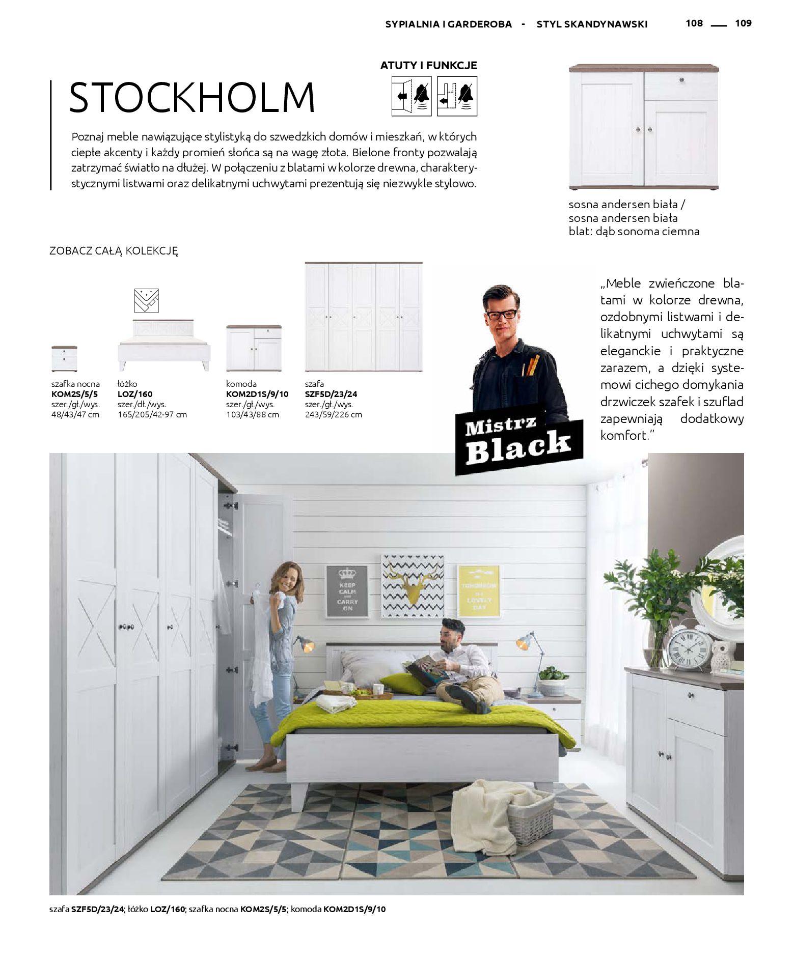 Gazetka Black Red White: Katalog - Rodzinne wnętrza 2019-04-01 page-109