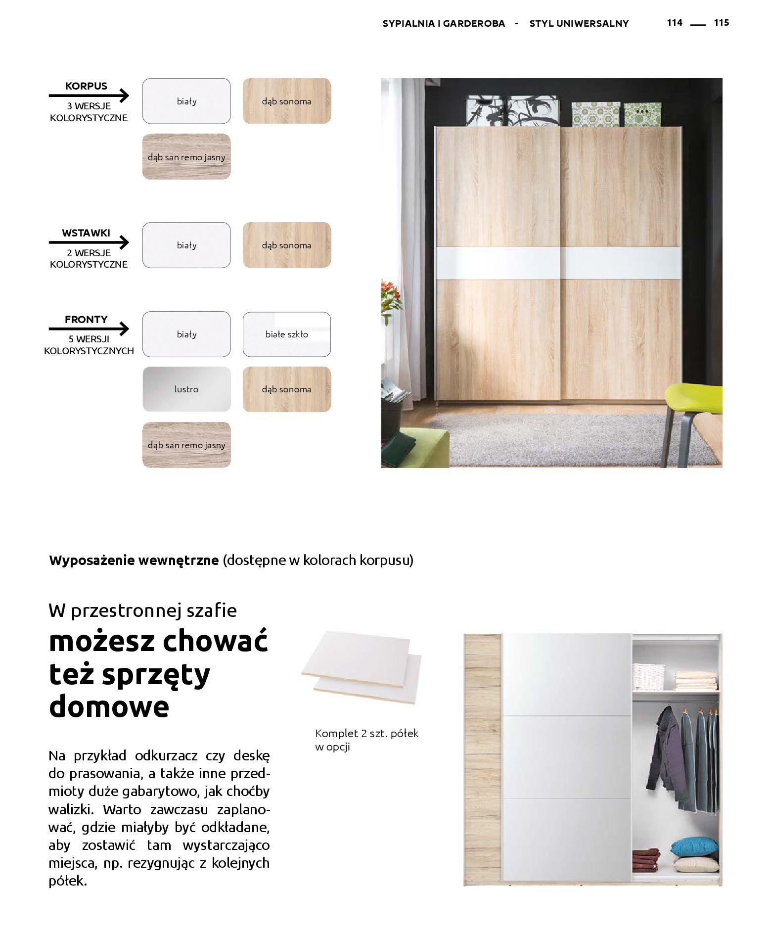 Gazetka Black Red White - Katalog - Rodzinne wnętrza-31.03.2019-31.12.2020-page-115