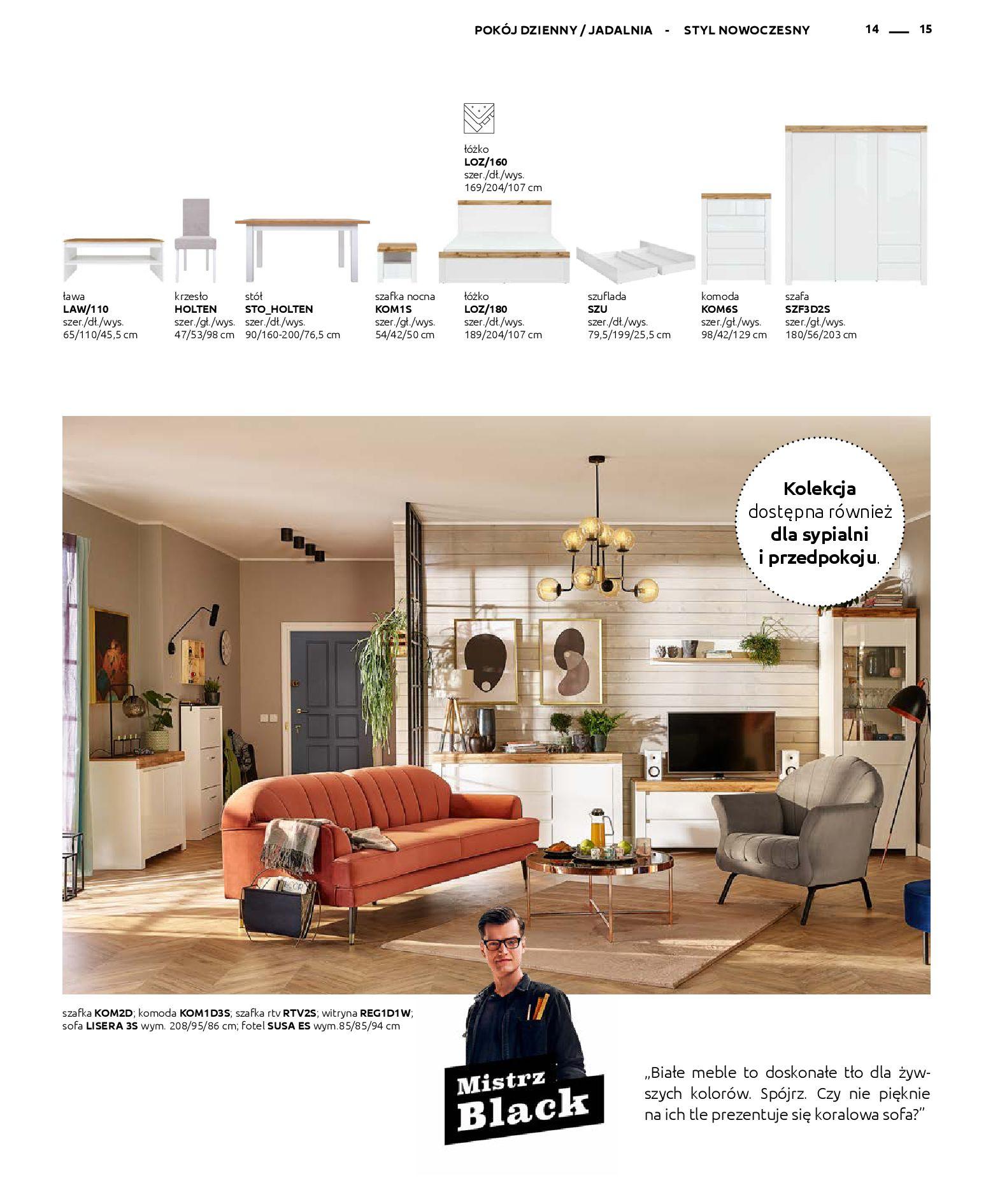 Gazetka Black Red White - Katalog - Rodzinne wnętrza-31.03.2019-31.12.2020-page-15