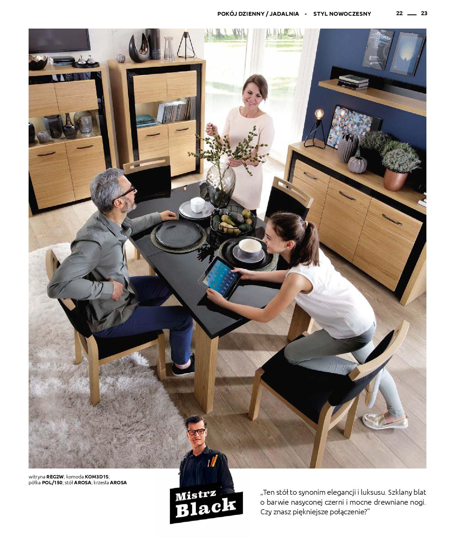 Gazetka Black Red White: Katalog - Rodzinne wnętrza 2019-04-01 page-23