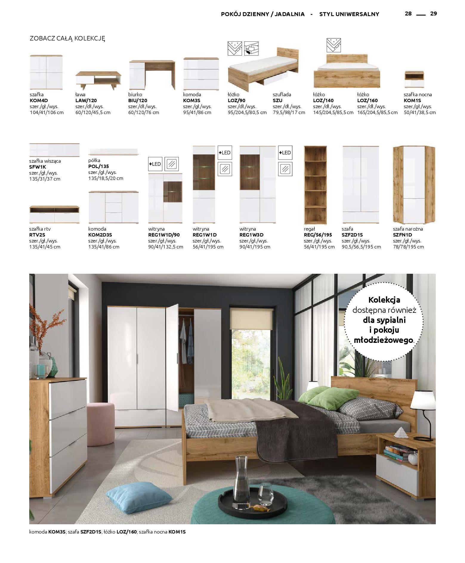 Gazetka Black Red White: Katalog - Rodzinne wnętrza 2019-04-01 page-29