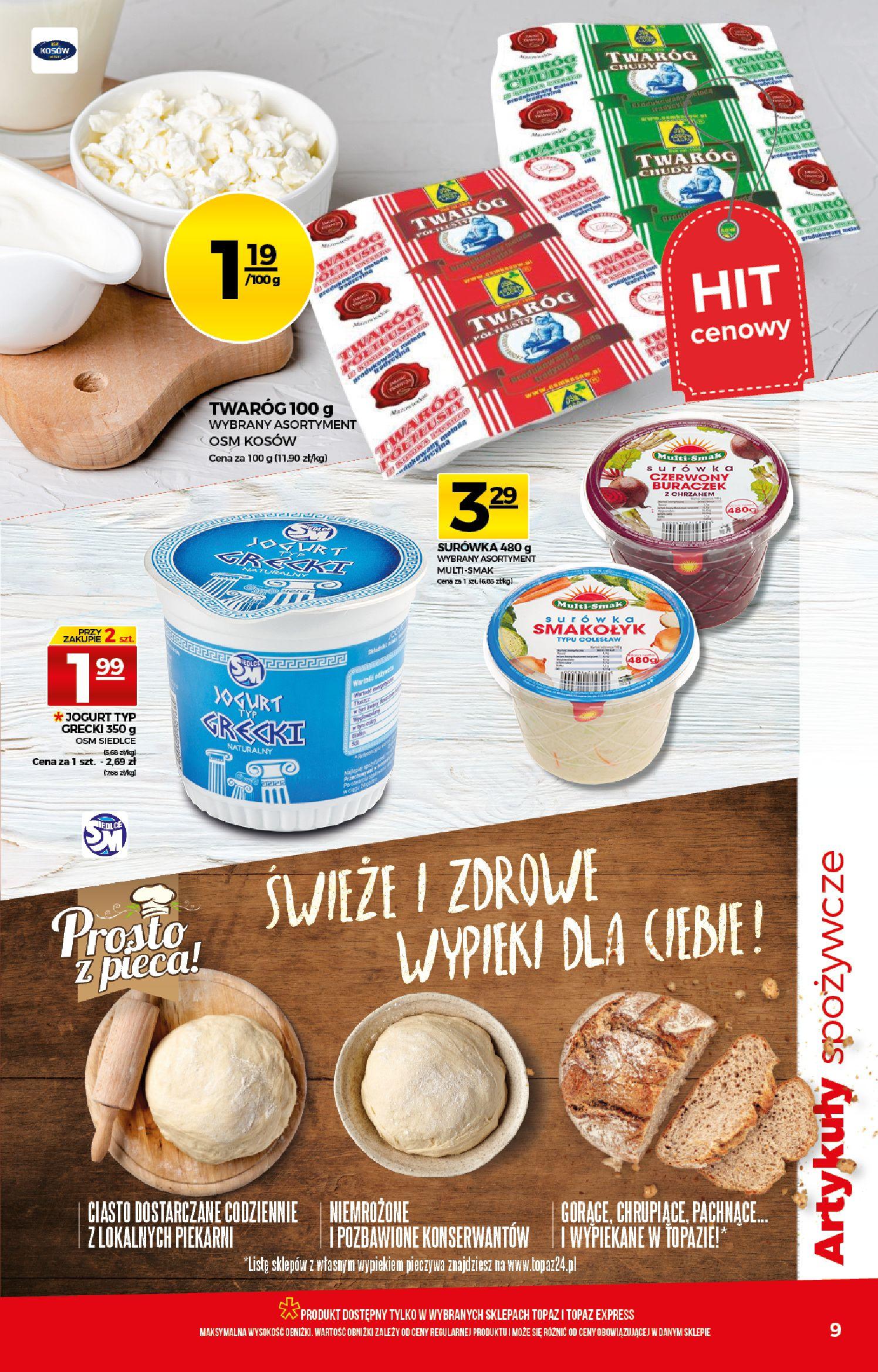 Gazetka TOPAZ - Gazetka promocyjna-25.03.2020-01.04.2020-page-9