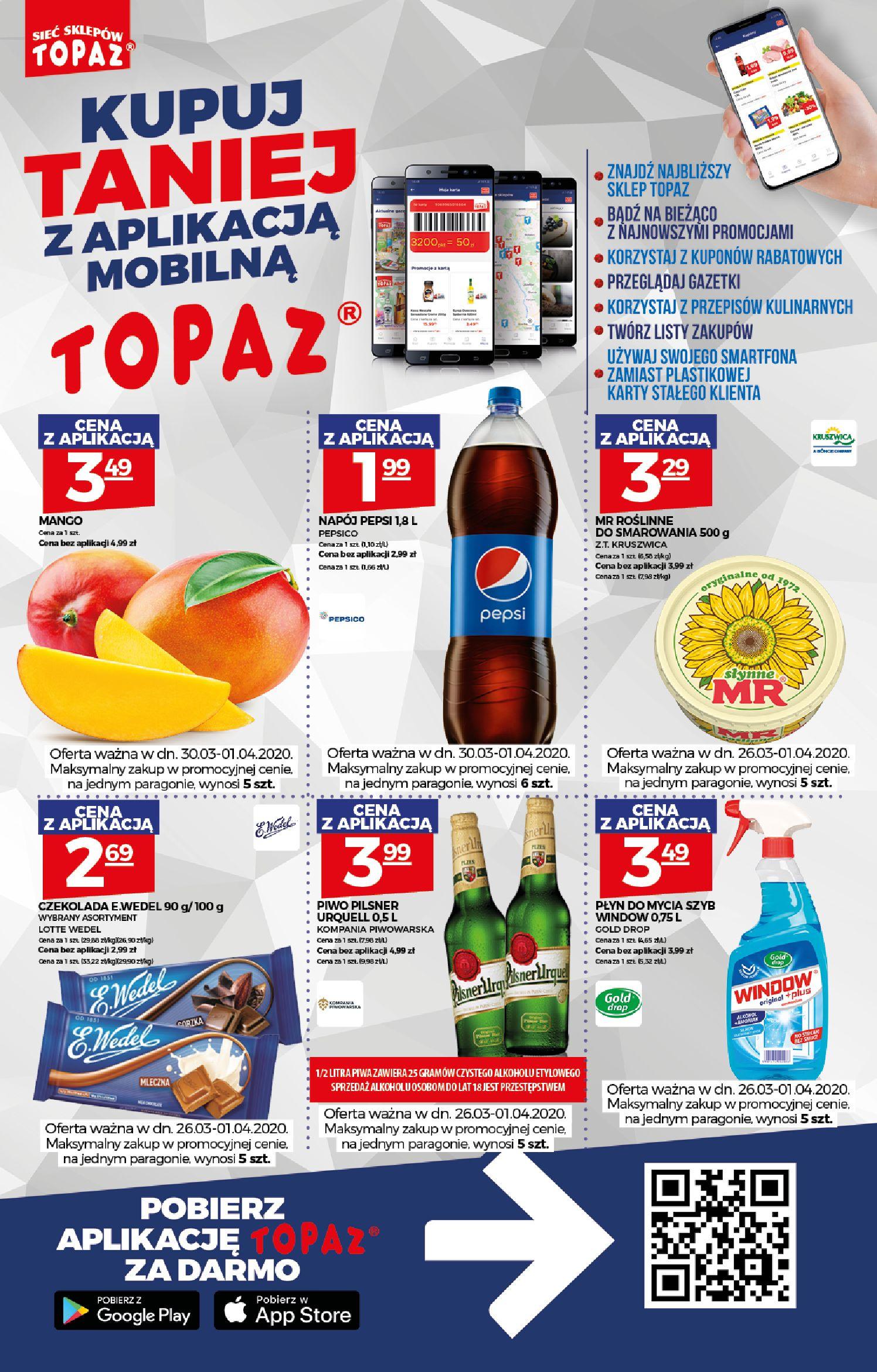 Gazetka TOPAZ - Gazetka promocyjna-25.03.2020-01.04.2020-page-2