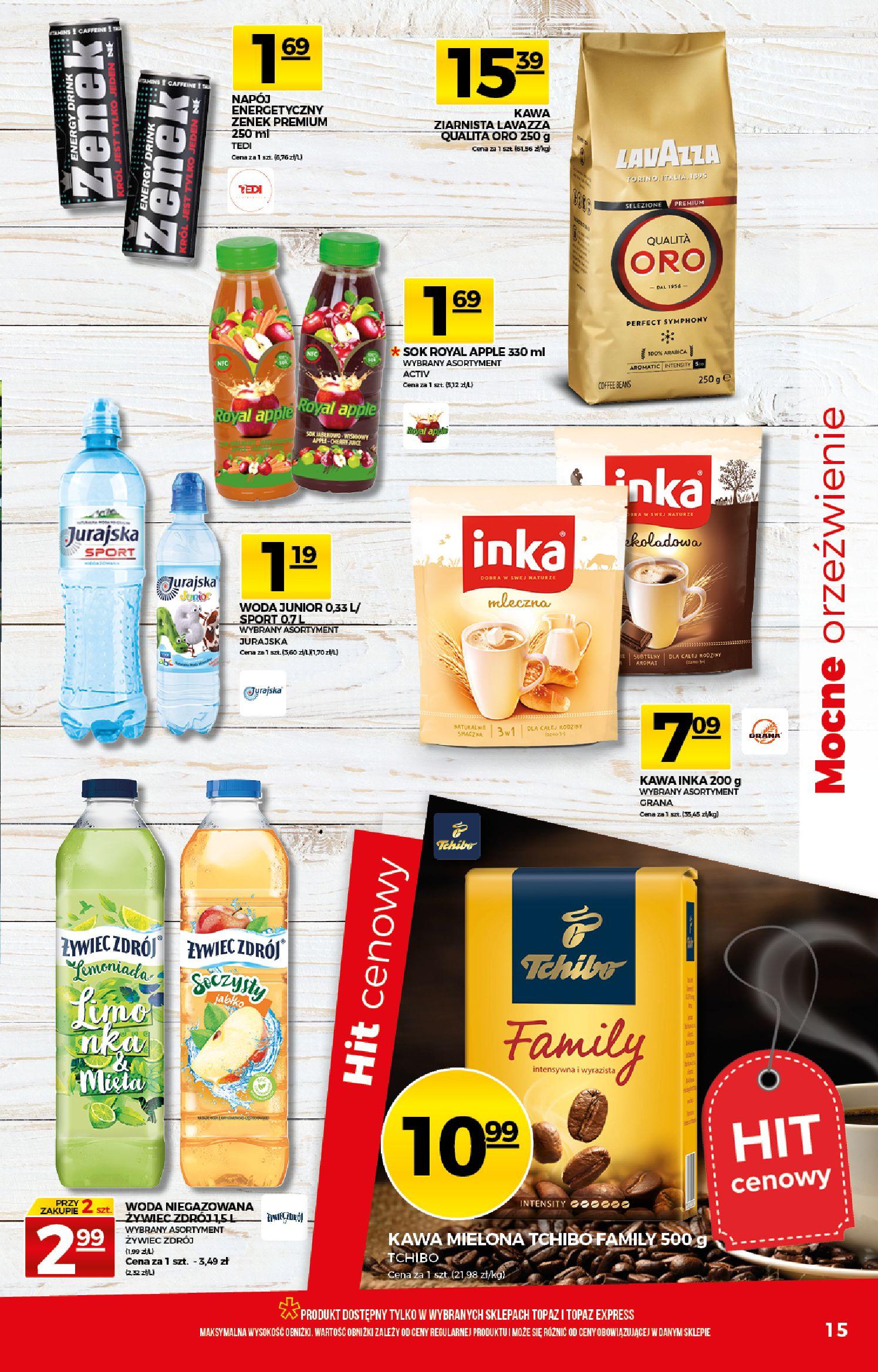 Gazetka TOPAZ - Gazetka promocyjna-25.03.2020-01.04.2020-page-15