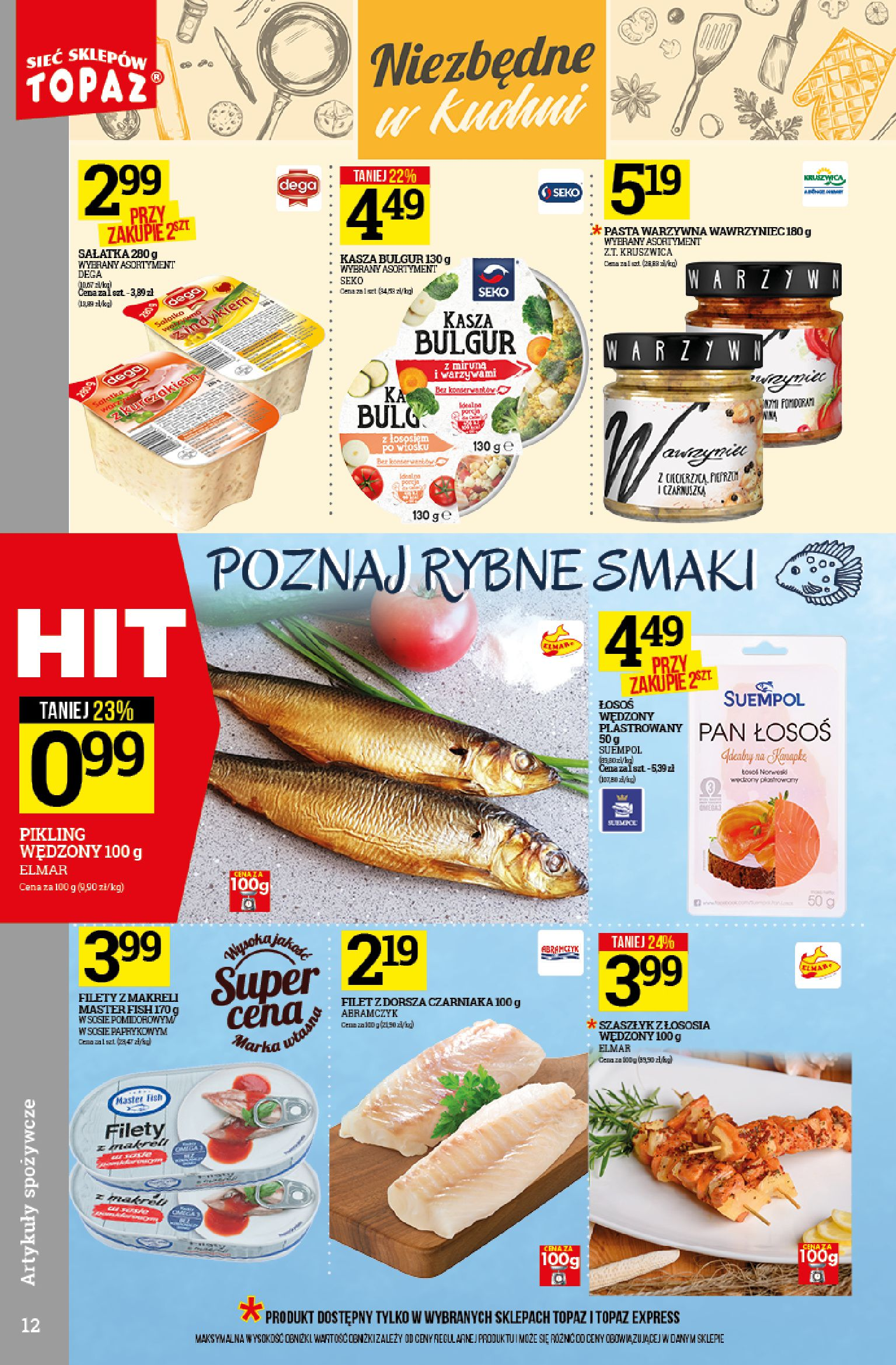 Gazetka TOPAZ - Oferta promocyjna-09.10.2019-16.10.2019-page-12