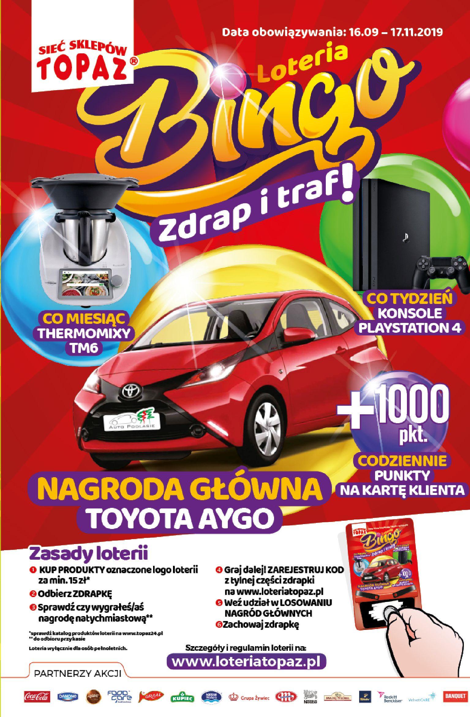 Gazetka TOPAZ - Oferta promocyjna-09.10.2019-16.10.2019-page-