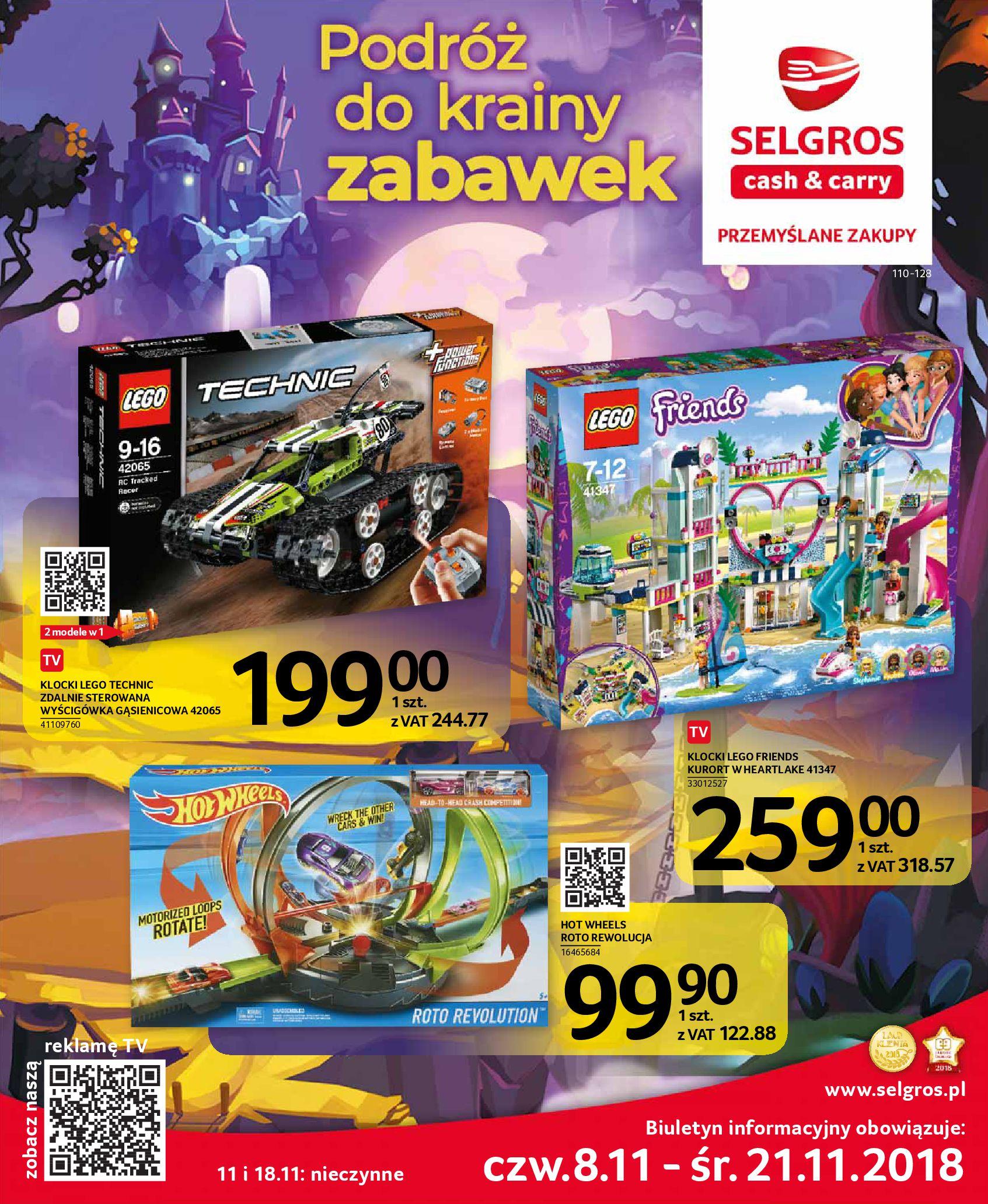 Gazetka Selgros - Podróż do krainy zabawek-06.11.2018-21.11.2018-page-