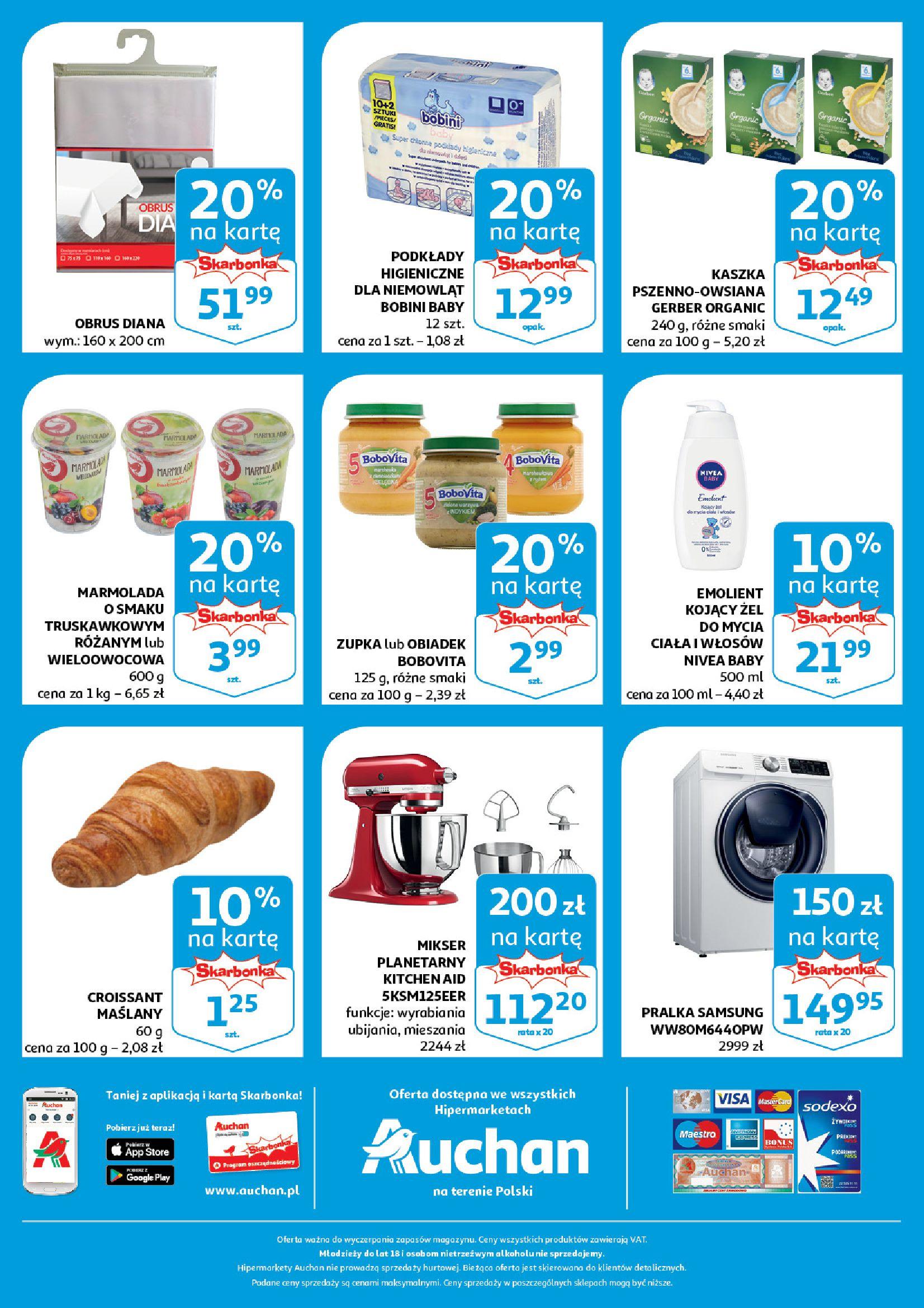 Gazetka Auchan - Aktualna oferta skarbonka Hipermarkety-10.04.2019-16.04.2019-page-