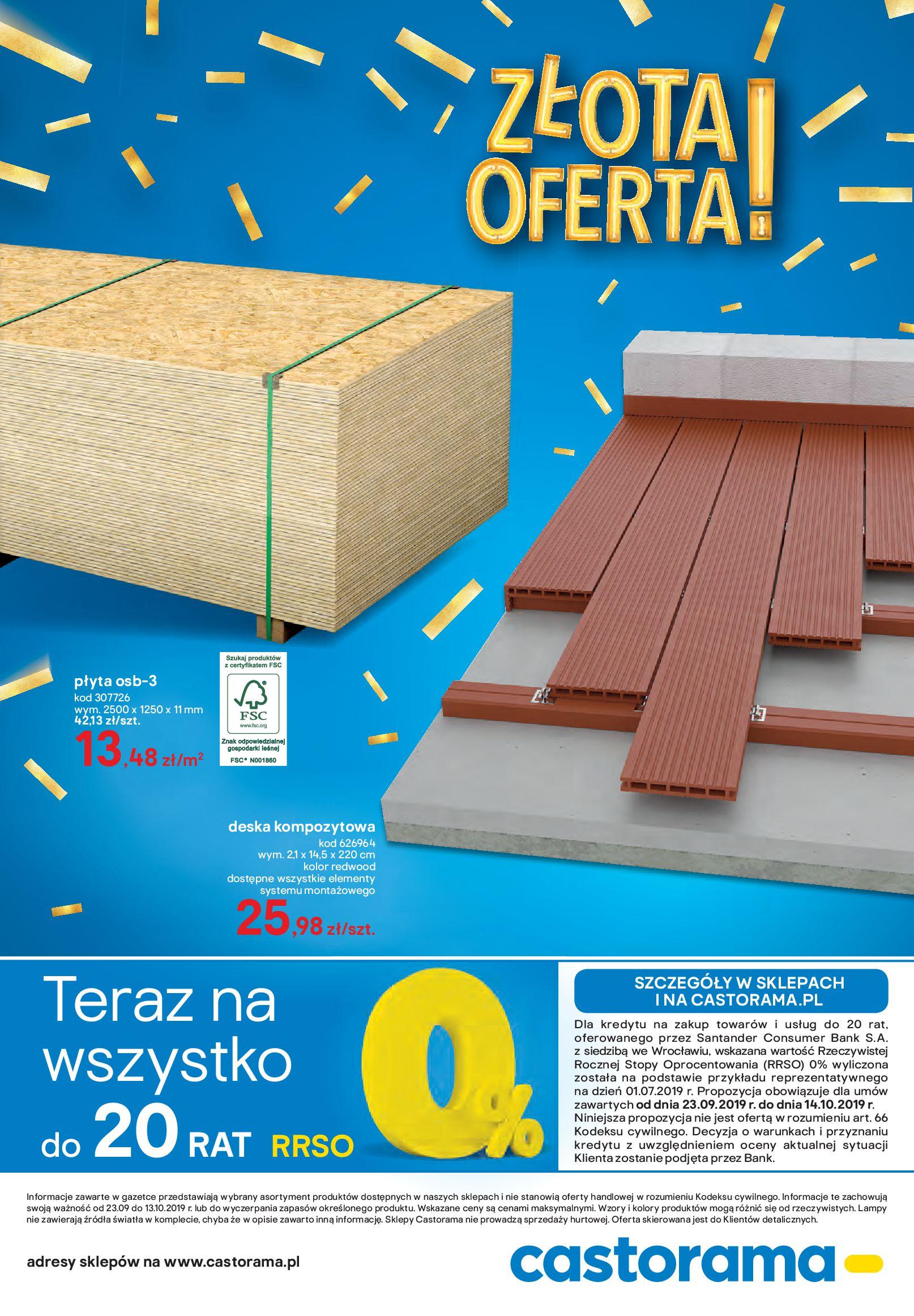 Gazetka Castorama - ZŁOTA OFERTA!-22.09.2019-13.10.2019-page-8