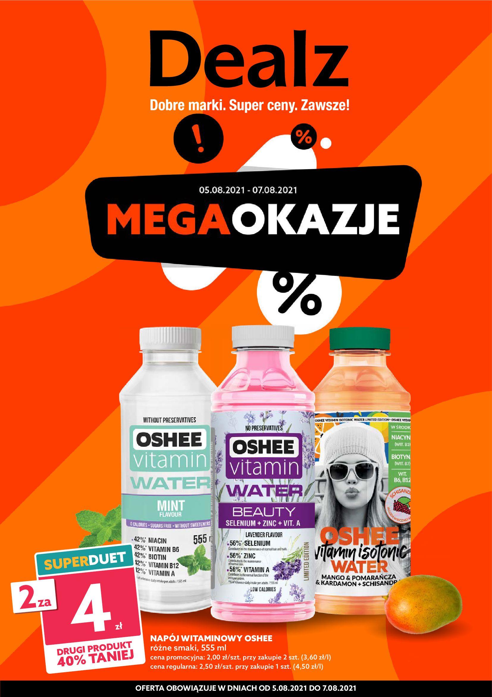 Dealz :  Gazetka Dealz - Mega Okazje od 05.08 04.08.2021