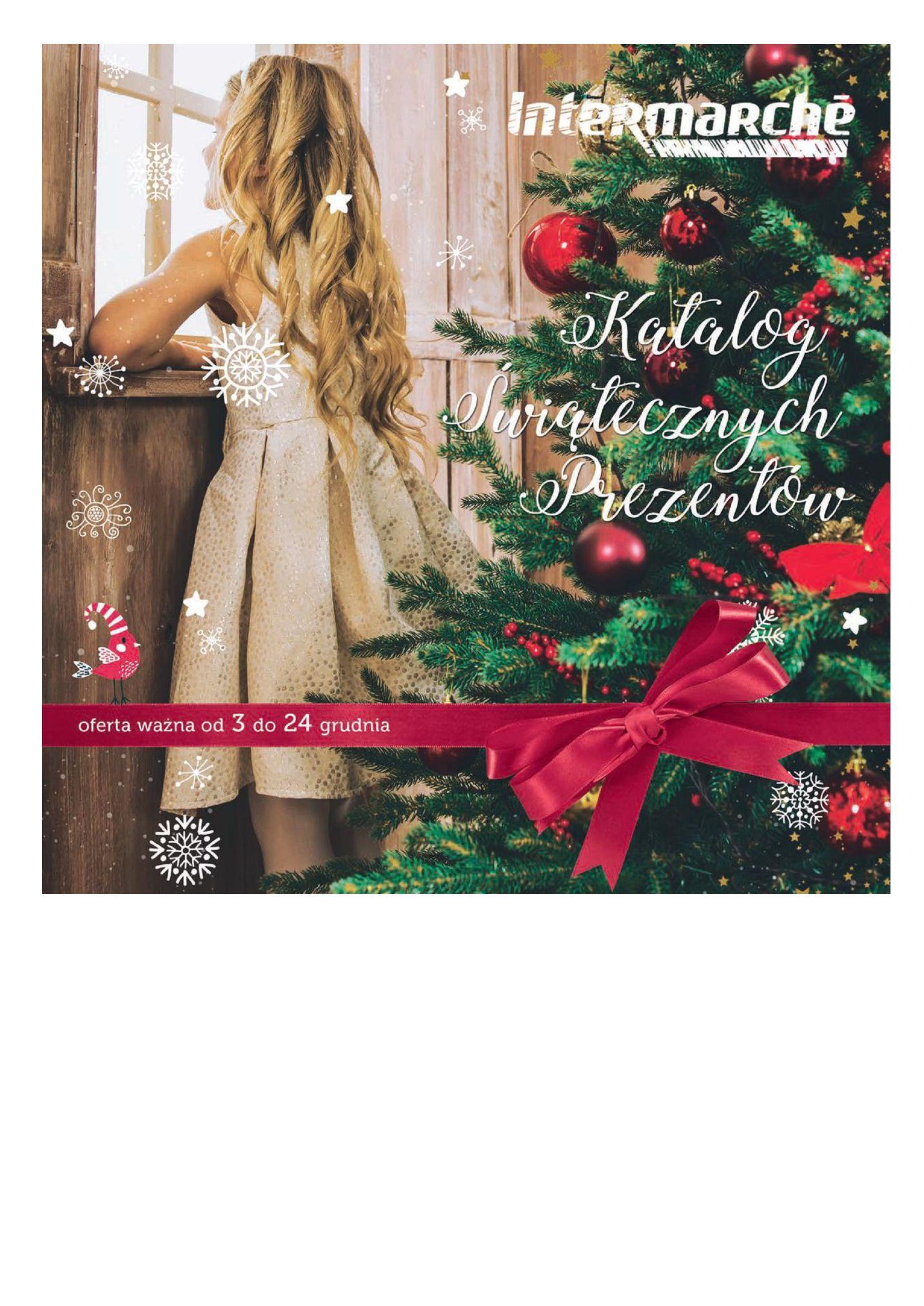 Gazetka Intermarché - Katalog Świątecznych Prezentów-02.12.2019-24.12.2019-page-1