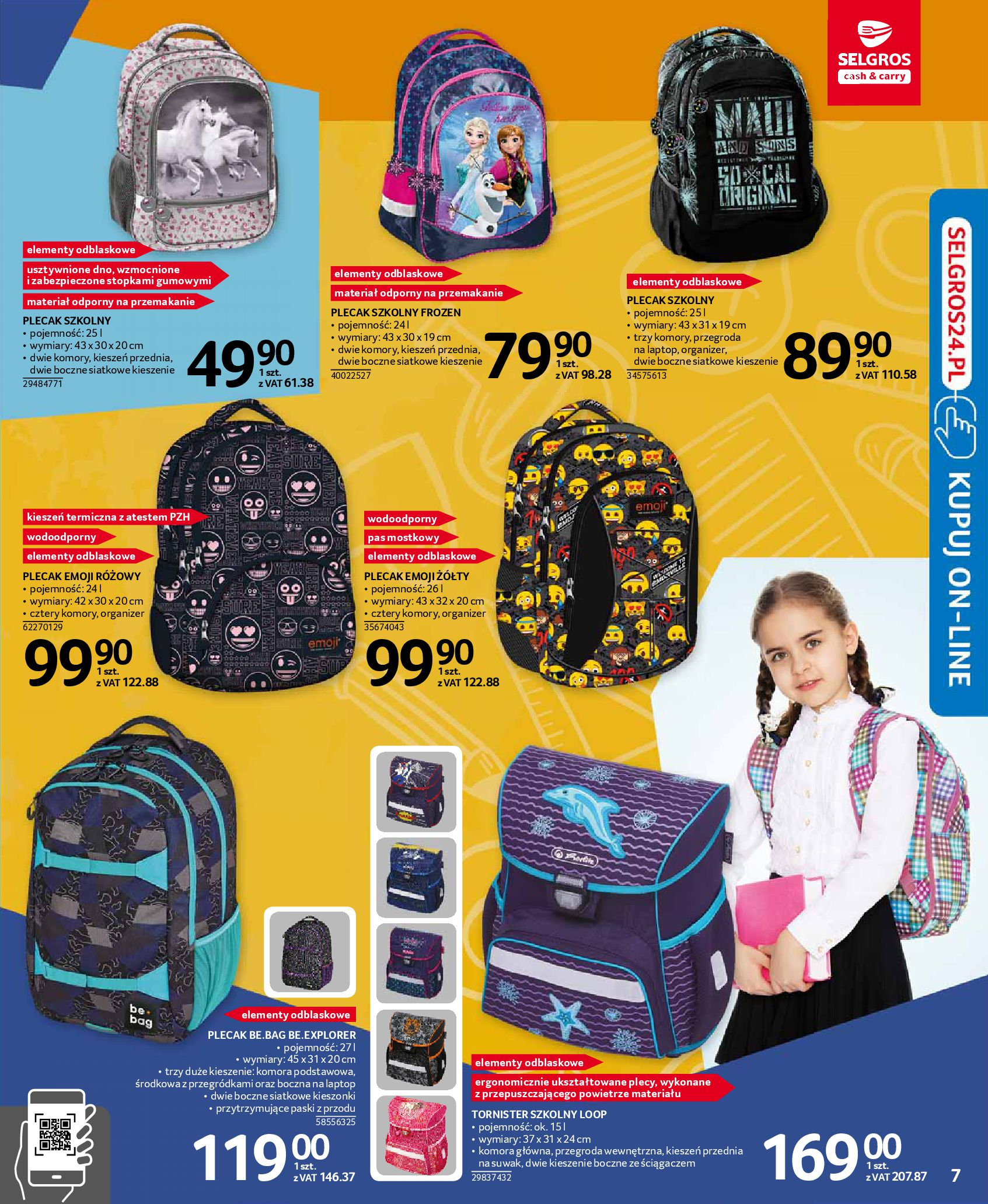 Gazetka Selgros - Katalog Szkoła-13.08.2019-28.08.2019-page-7