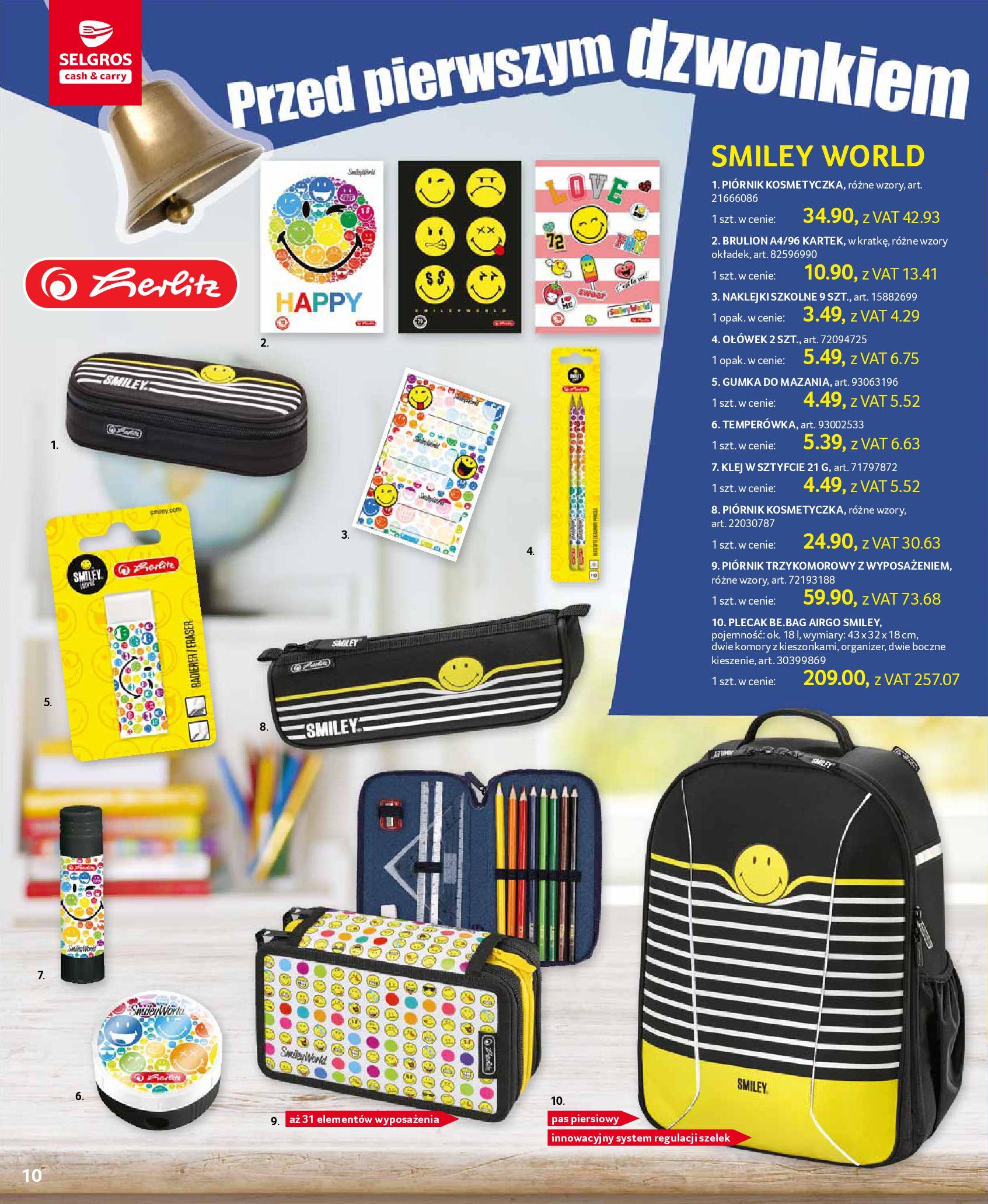 Gazetka Selgros - Katalog Szkoła-13.08.2019-28.08.2019-page-10