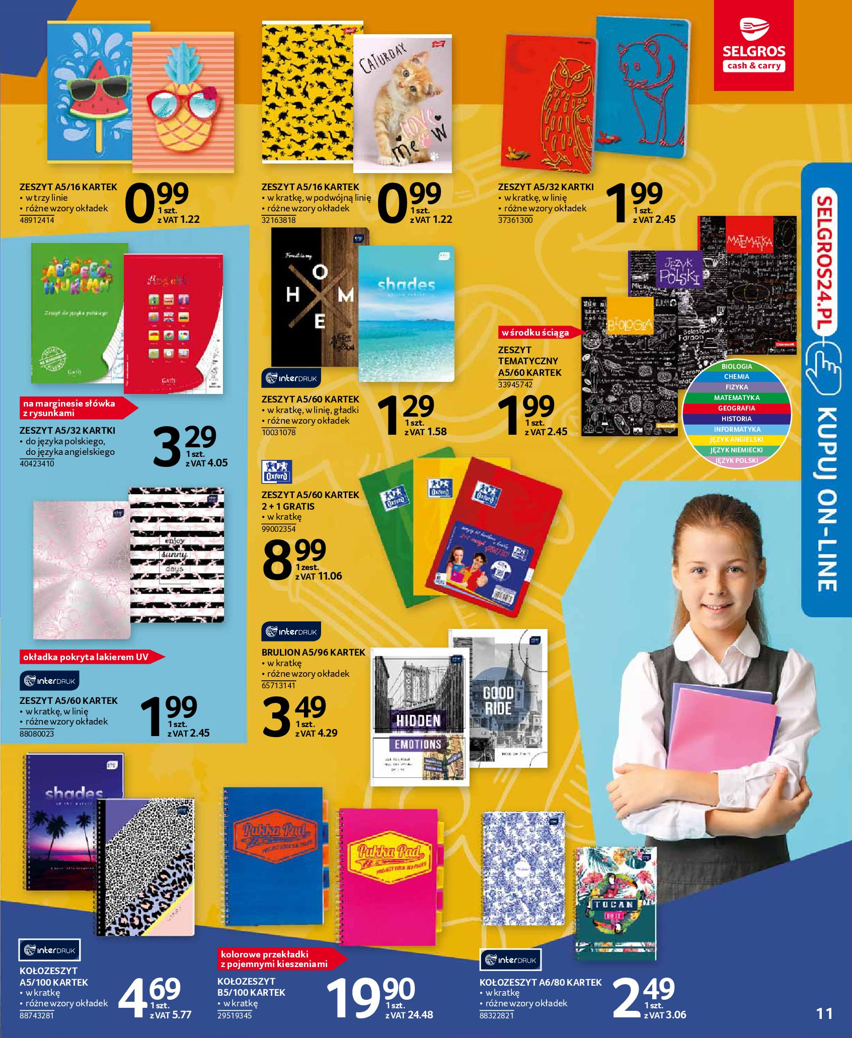 Gazetka Selgros - Katalog Szkoła-13.08.2019-28.08.2019-page-11