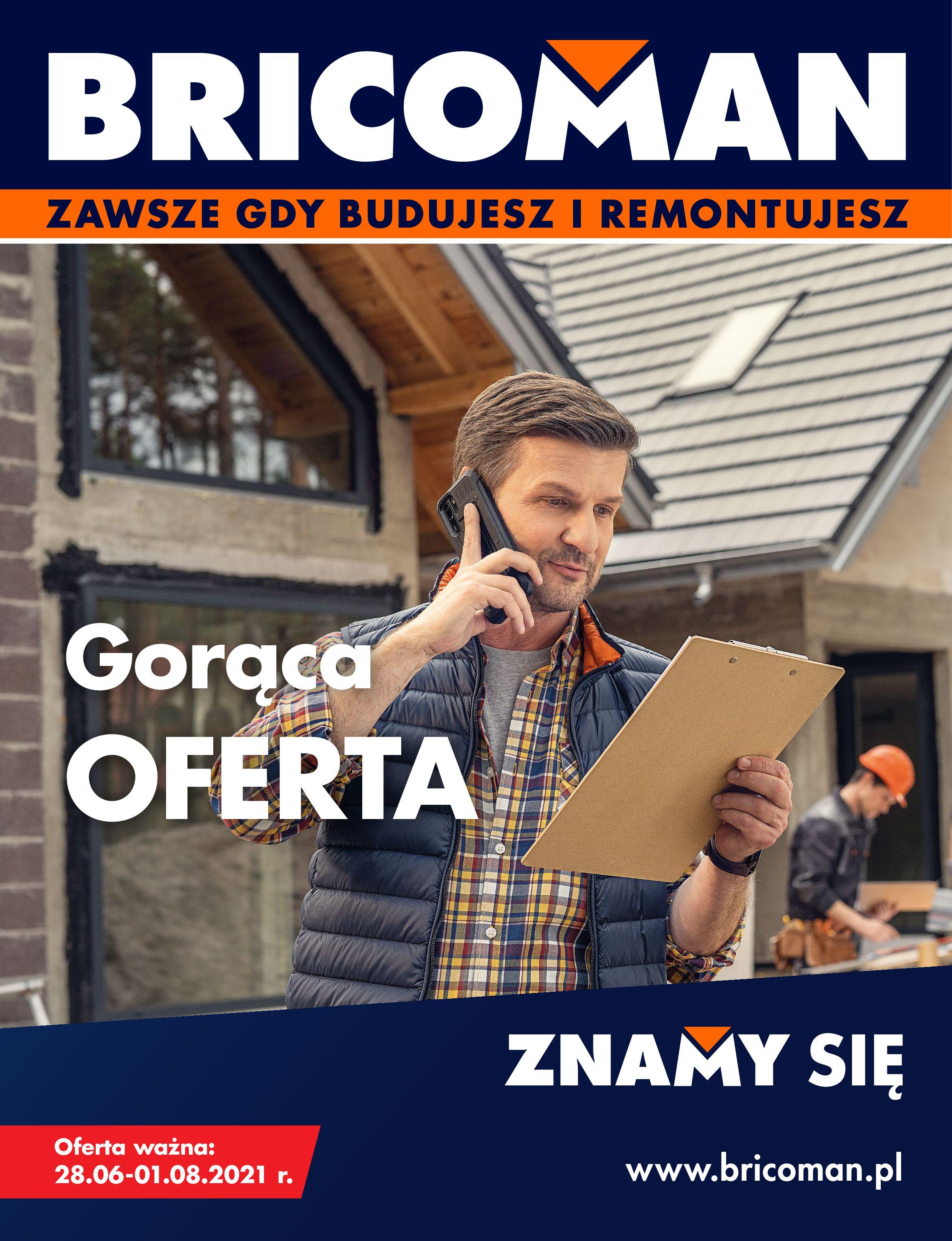 Gazetka Bricoman: Gazetka Bricoman 2021-06-28 page-1
