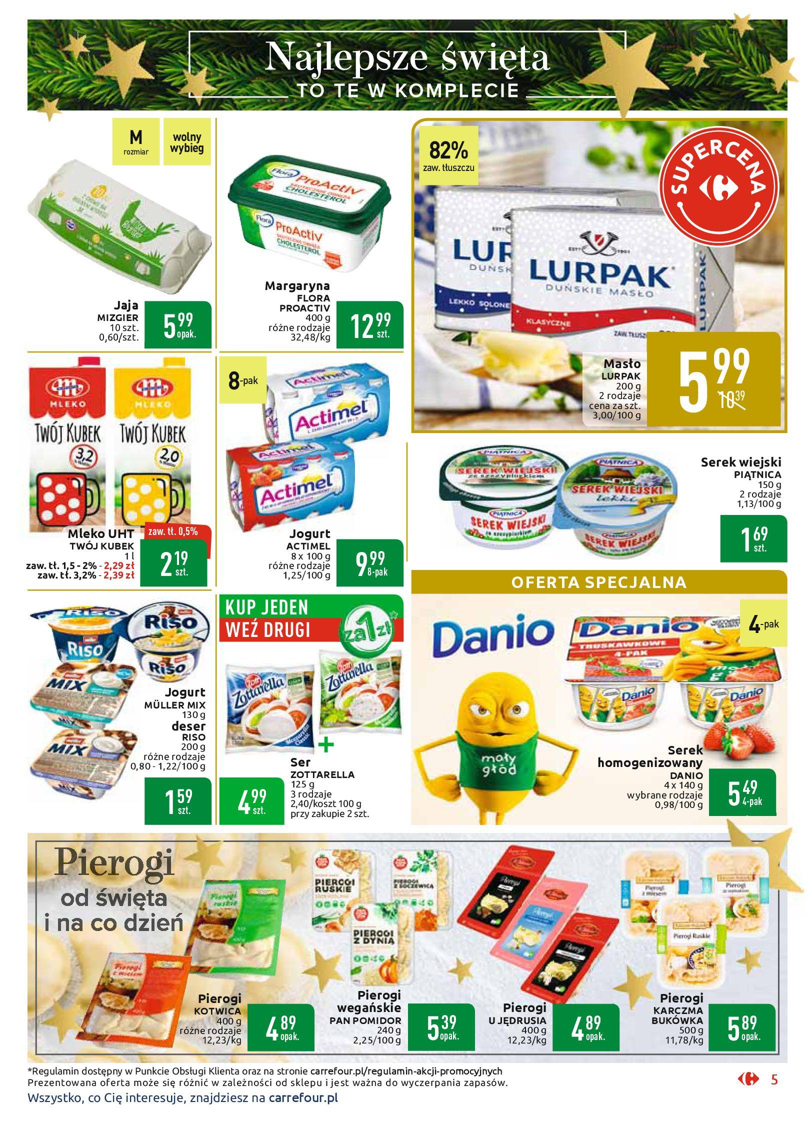 Gazetka Carrefour Market - Najlepszy wybór, najlepsze ceny-25.11.2019-07.12.2019-page-5