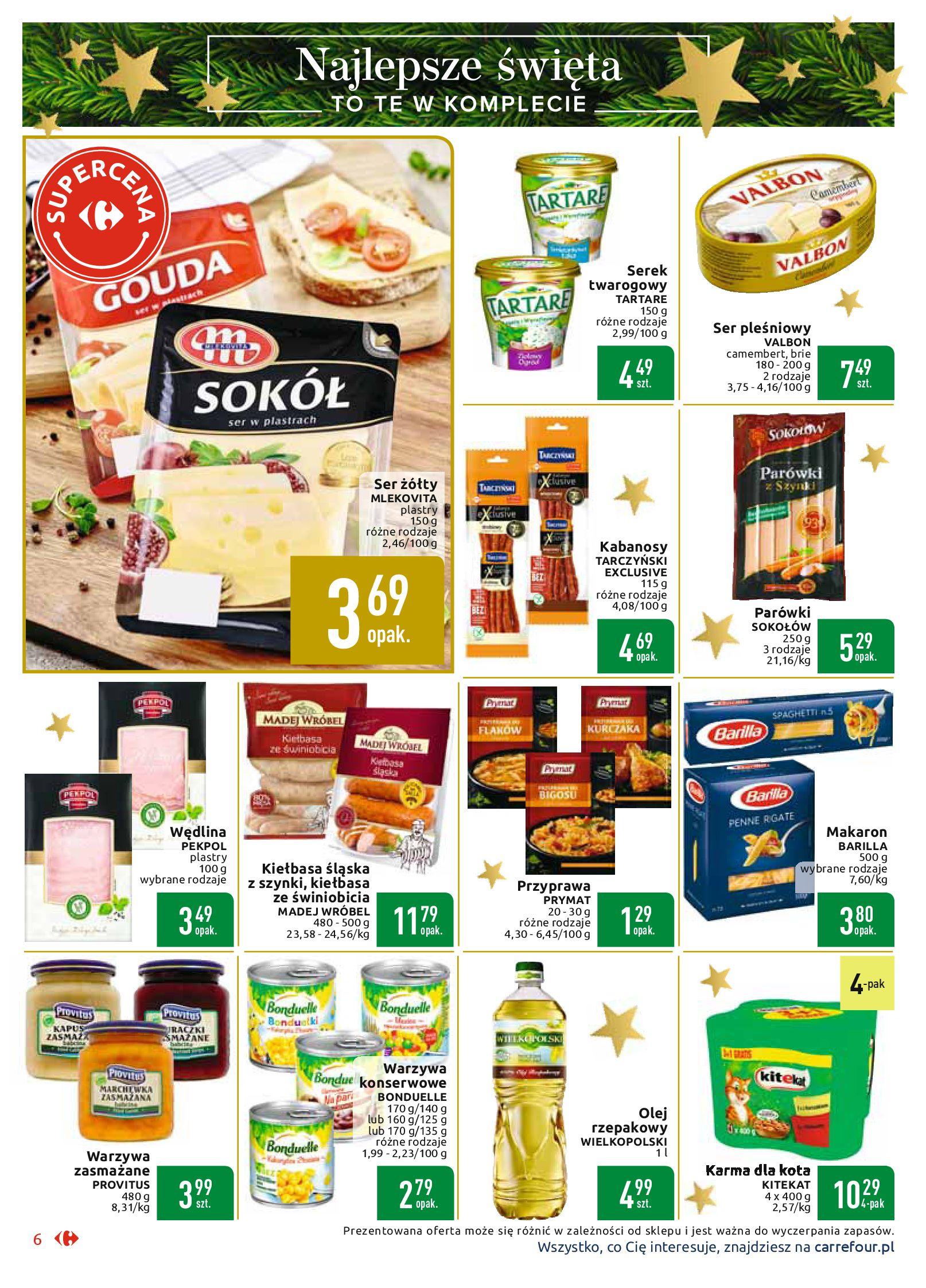 Gazetka Carrefour Market - Najlepszy wybór, najlepsze ceny-25.11.2019-07.12.2019-page-6
