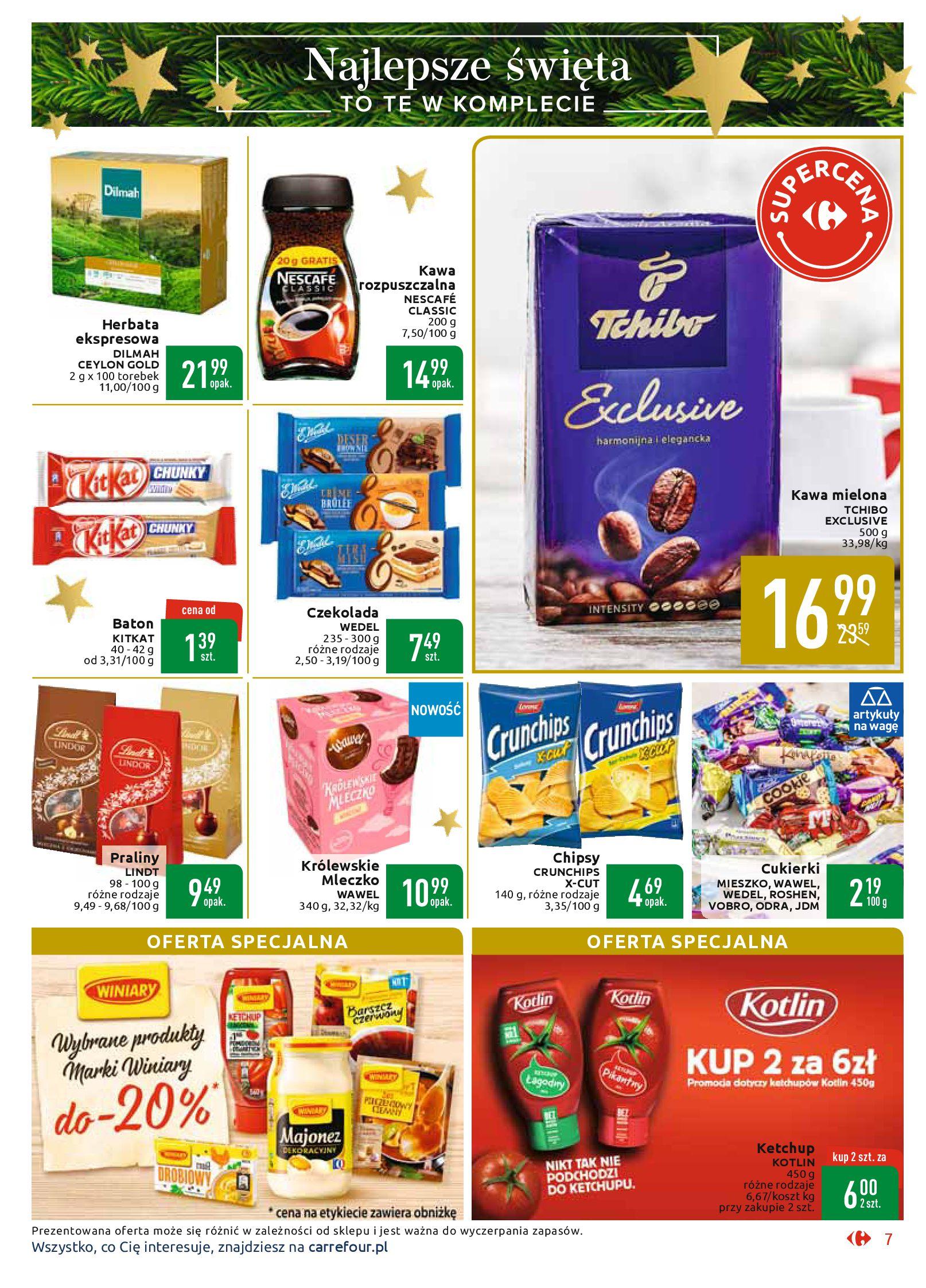 Gazetka Carrefour Market - Najlepszy wybór, najlepsze ceny-25.11.2019-07.12.2019-page-7