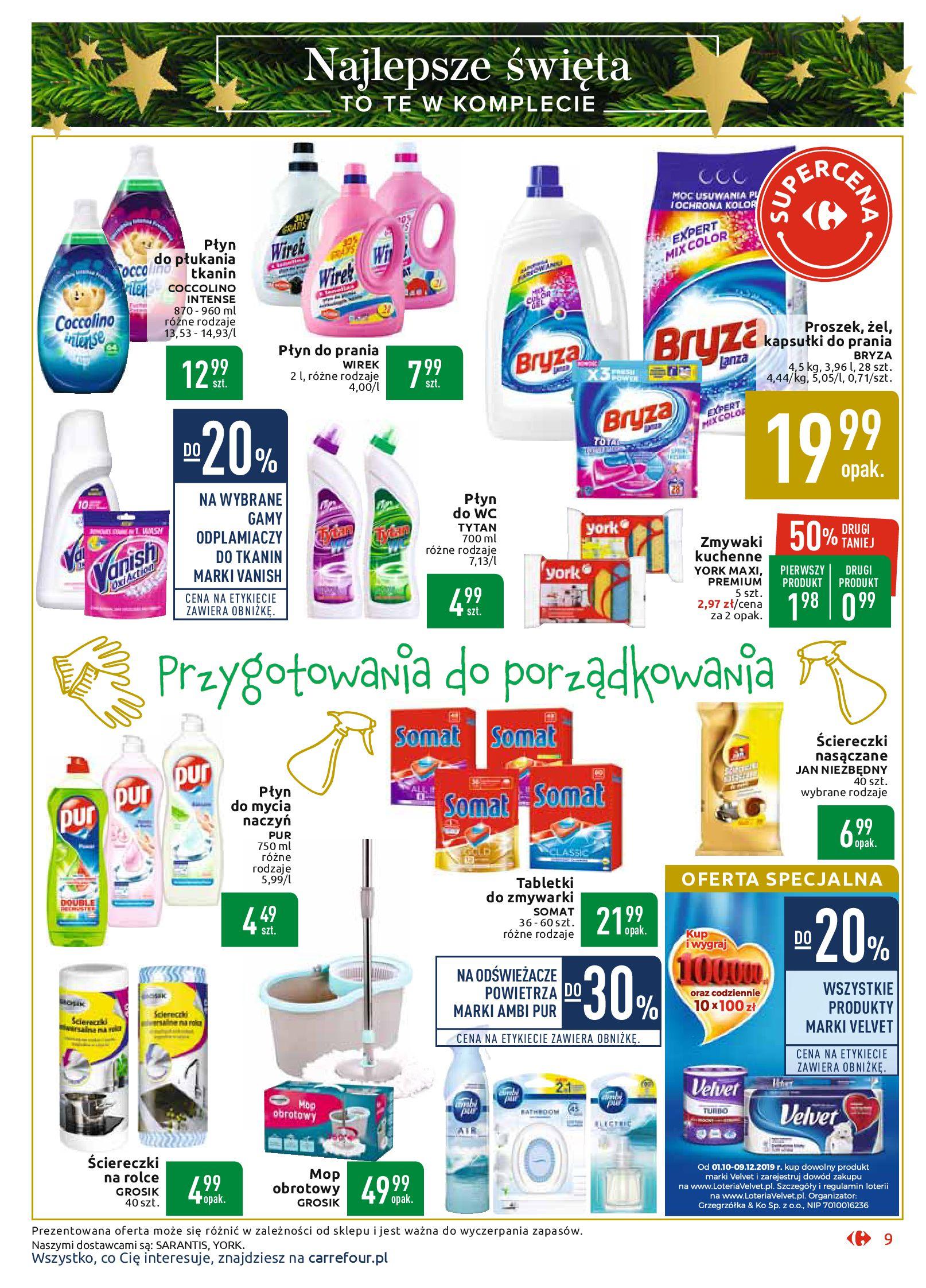 Gazetka Carrefour Market - Najlepszy wybór, najlepsze ceny-25.11.2019-07.12.2019-page-9