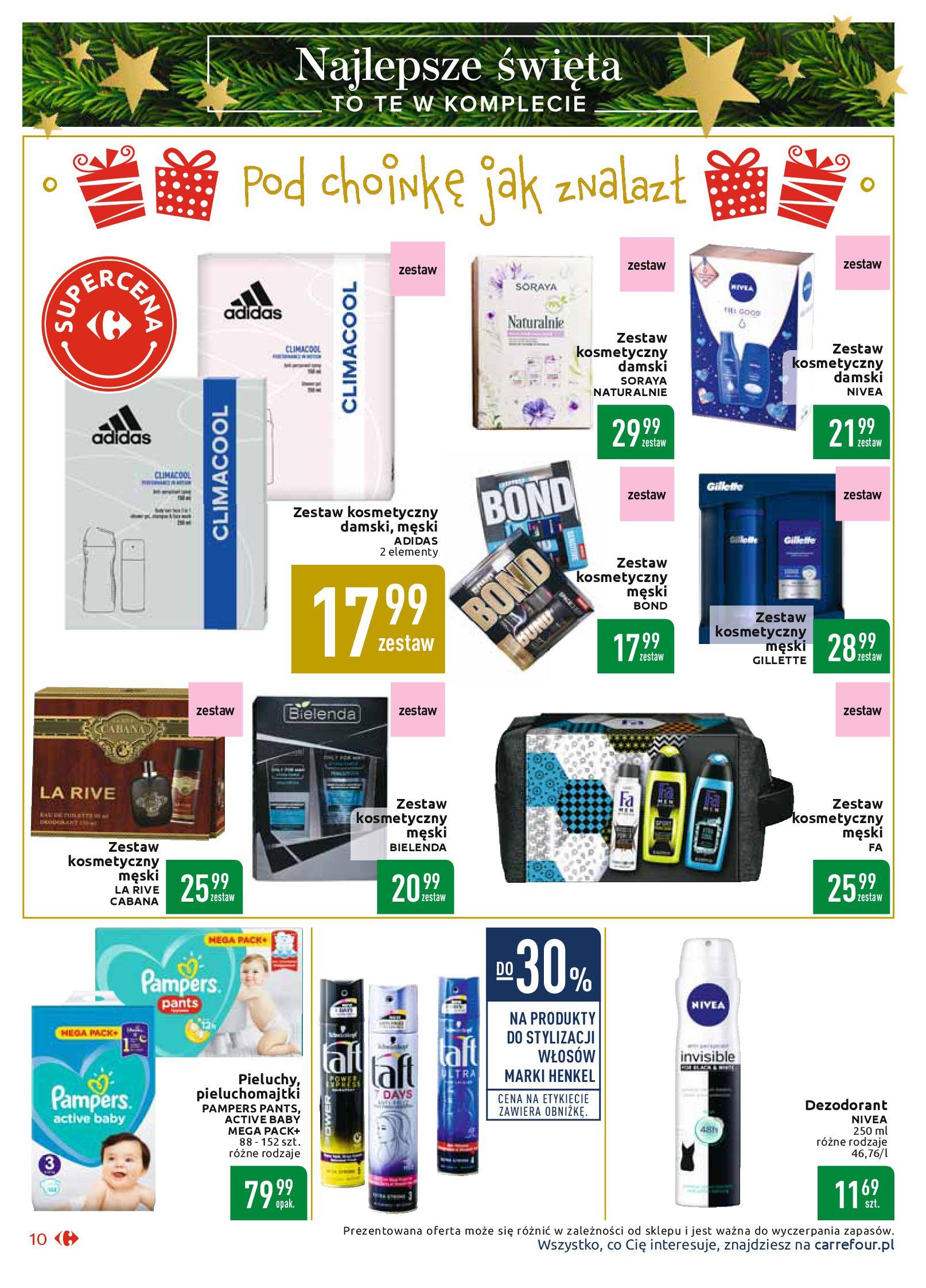 Gazetka Carrefour Market - Najlepszy wybór, najlepsze ceny-25.11.2019-07.12.2019-page-10