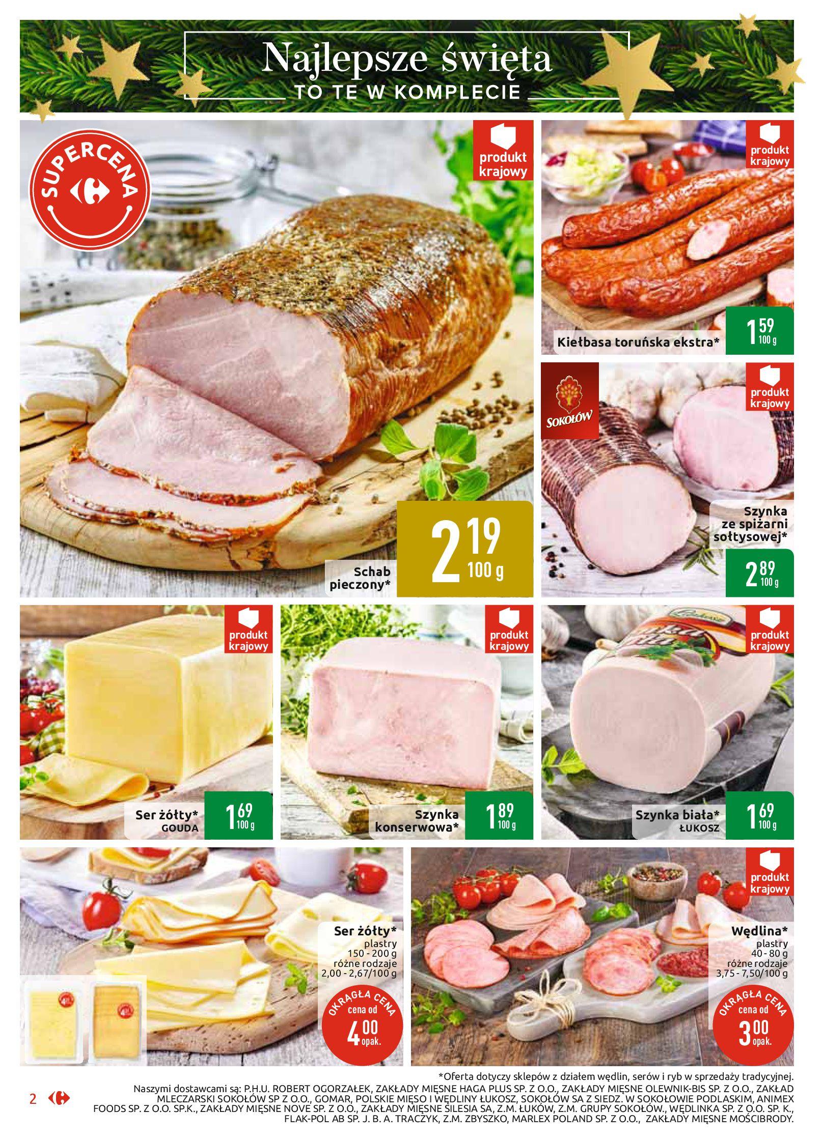 Gazetka Carrefour Market - Najlepszy wybór, najlepsze ceny-25.11.2019-07.12.2019-page-2