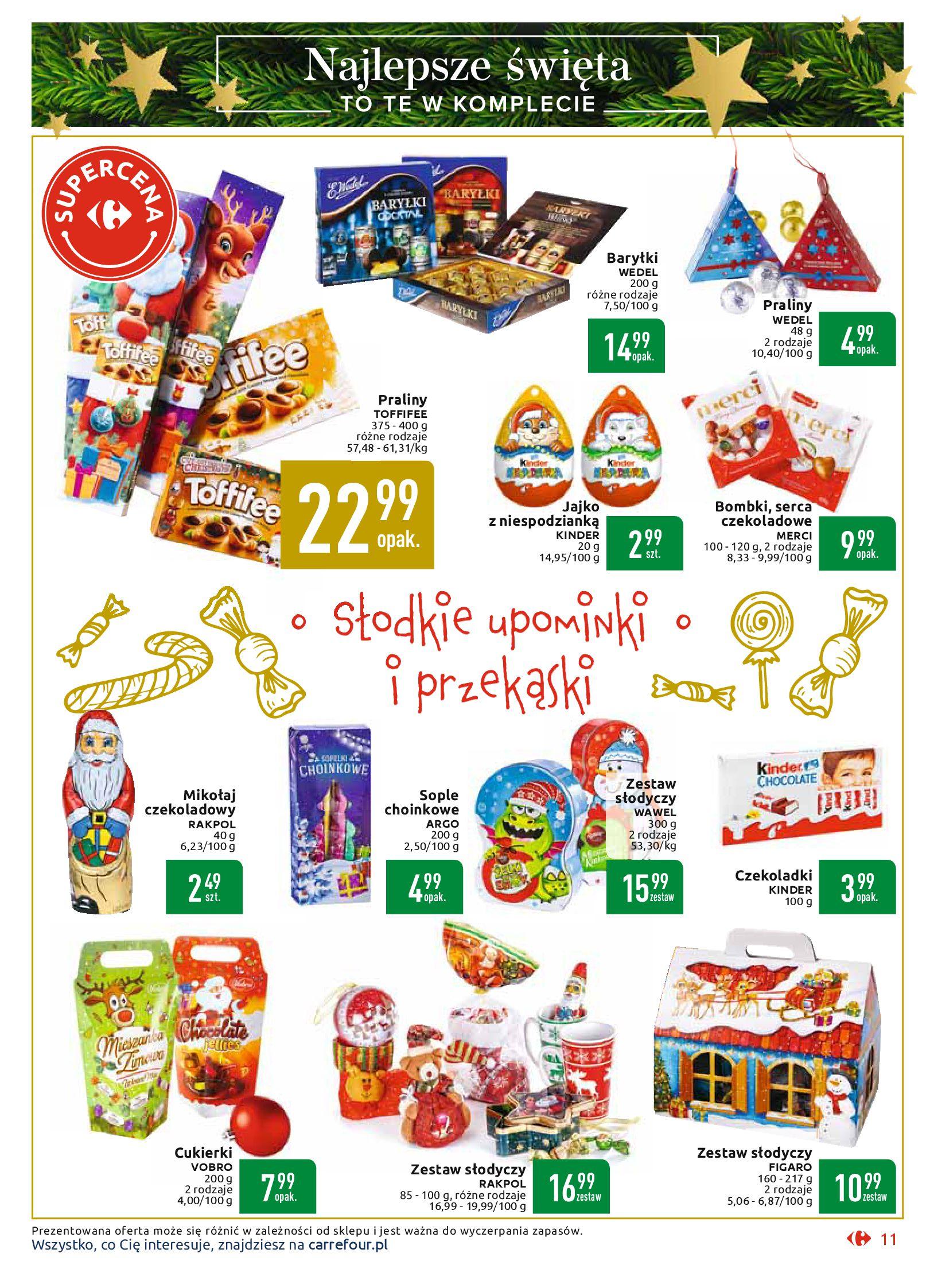Gazetka Carrefour Market - Najlepszy wybór, najlepsze ceny-25.11.2019-07.12.2019-page-11